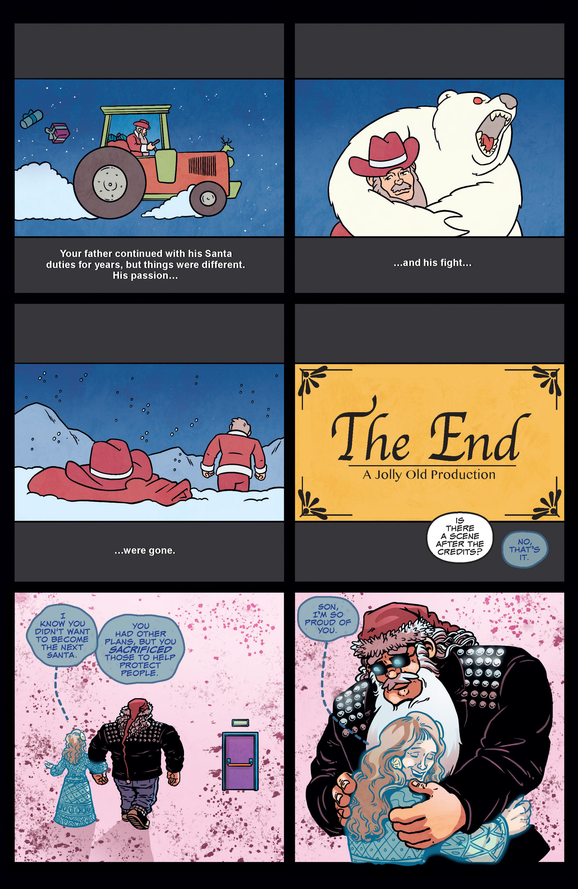 Read online Sleigher comic -  Issue #3 - 16