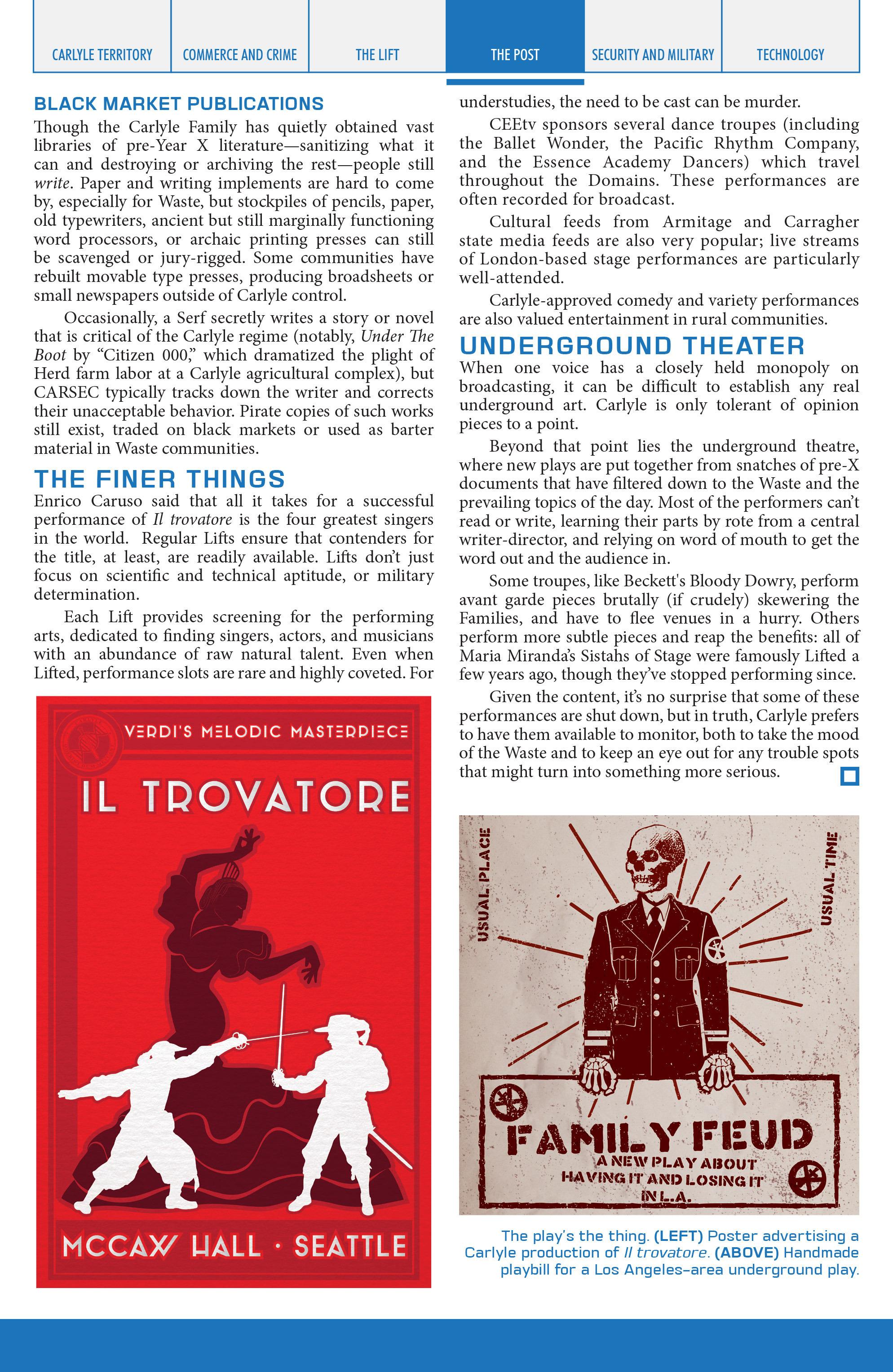 Read online Lazarus Sourcebook comic -  Issue # Vol. 1 - 22