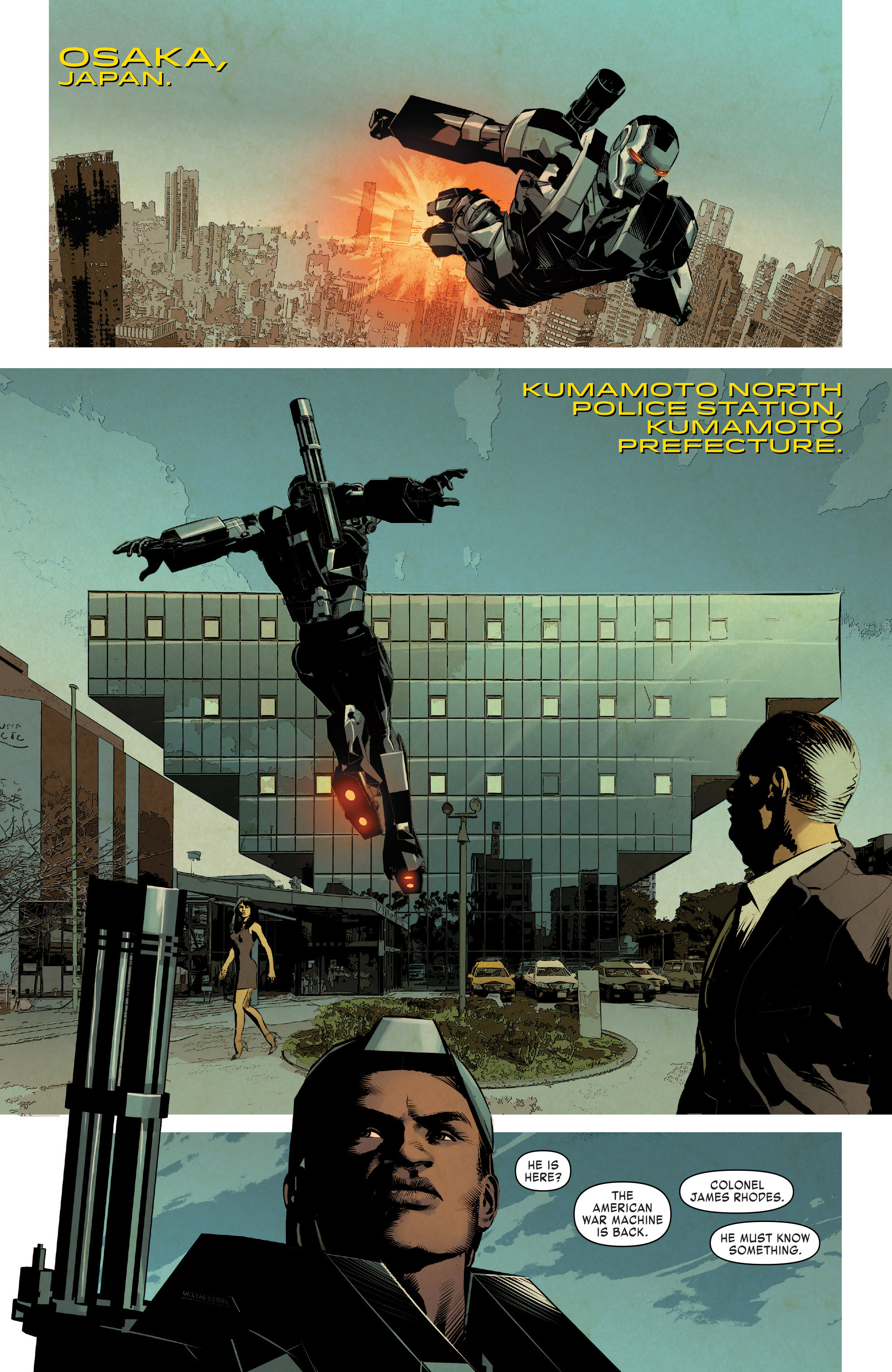 Read online True Believers: Invincible Iron Man-The War Machines comic -  Issue # Full - 116