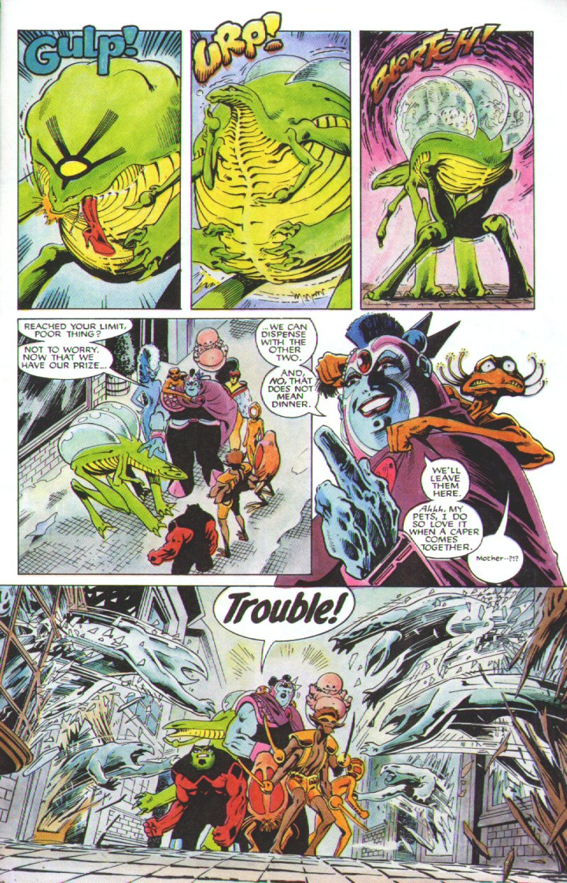 Read online Excalibur: The Sword is Drawn comic -  Issue # Full - 36