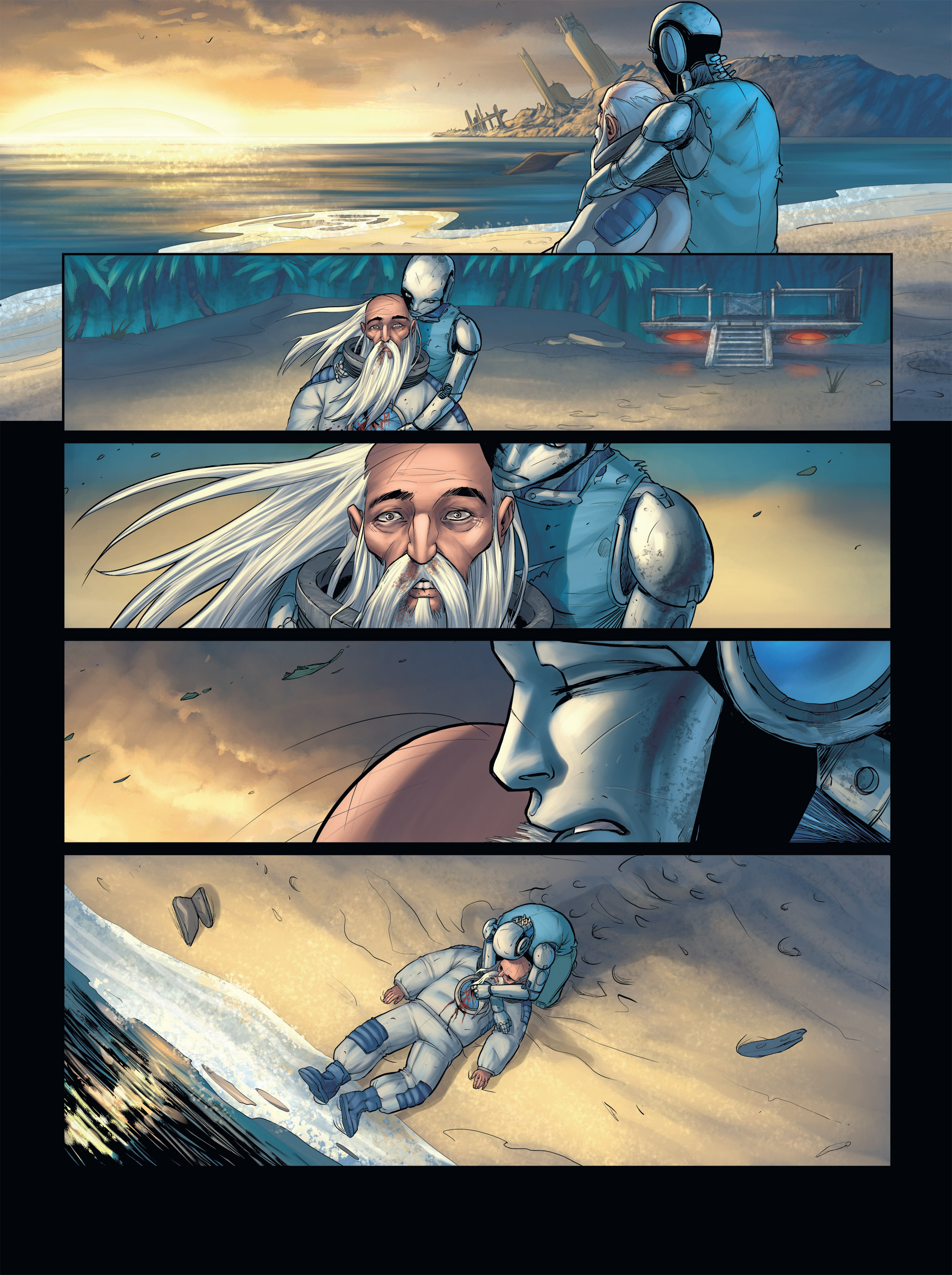 Read online Androïds comic -  Issue #2 - 48