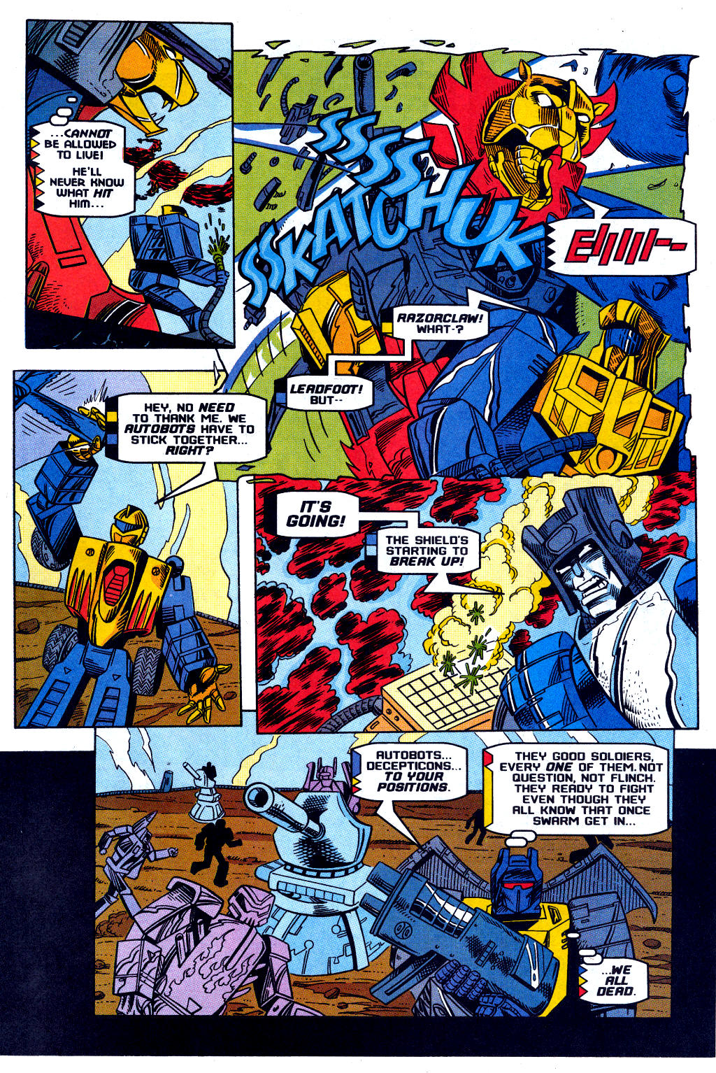 Read online Transformers: Generation 2 comic -  Issue #12 - 24