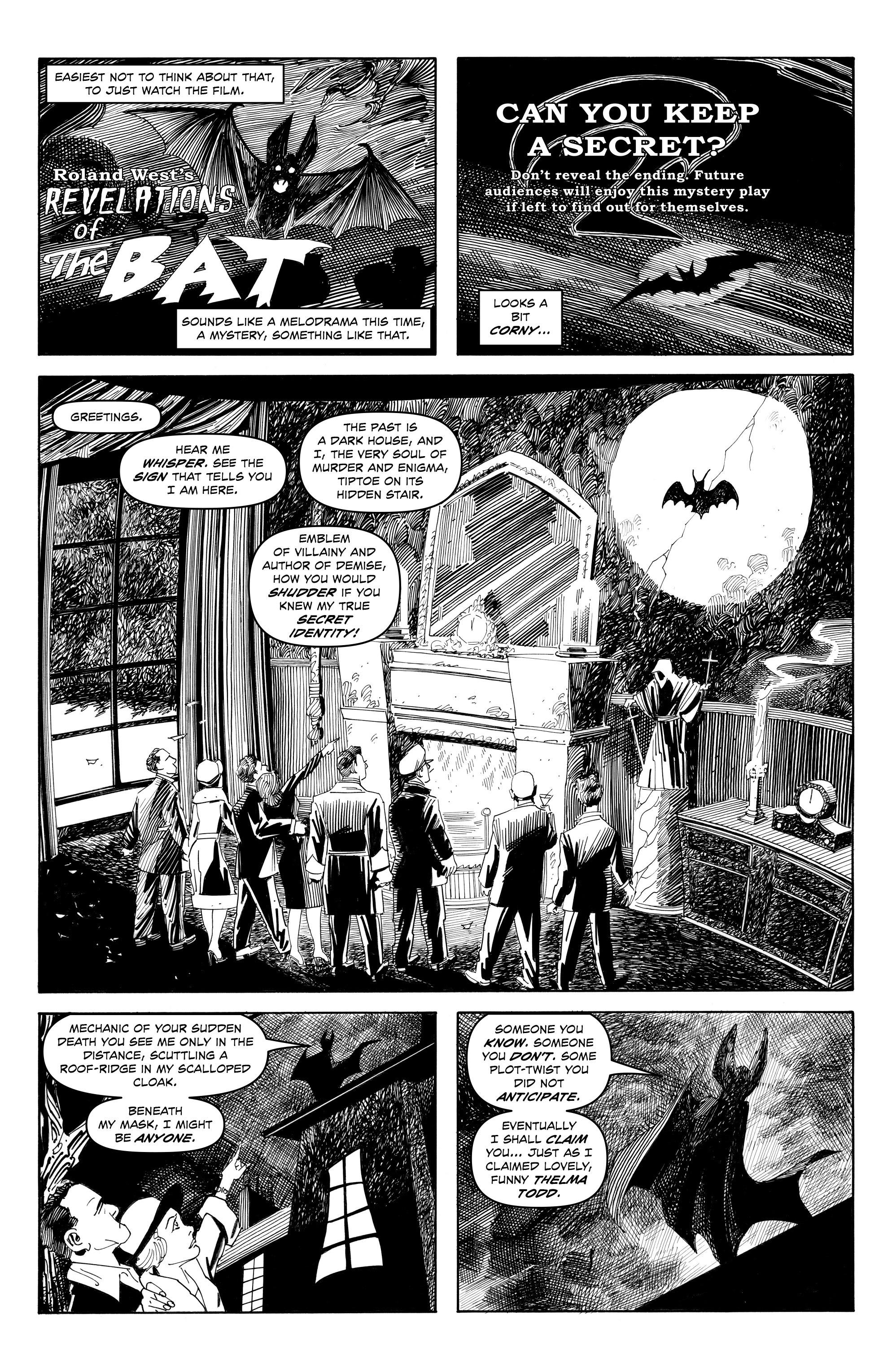 Read online Alan Moore's Cinema Purgatorio comic -  Issue #9 - 6