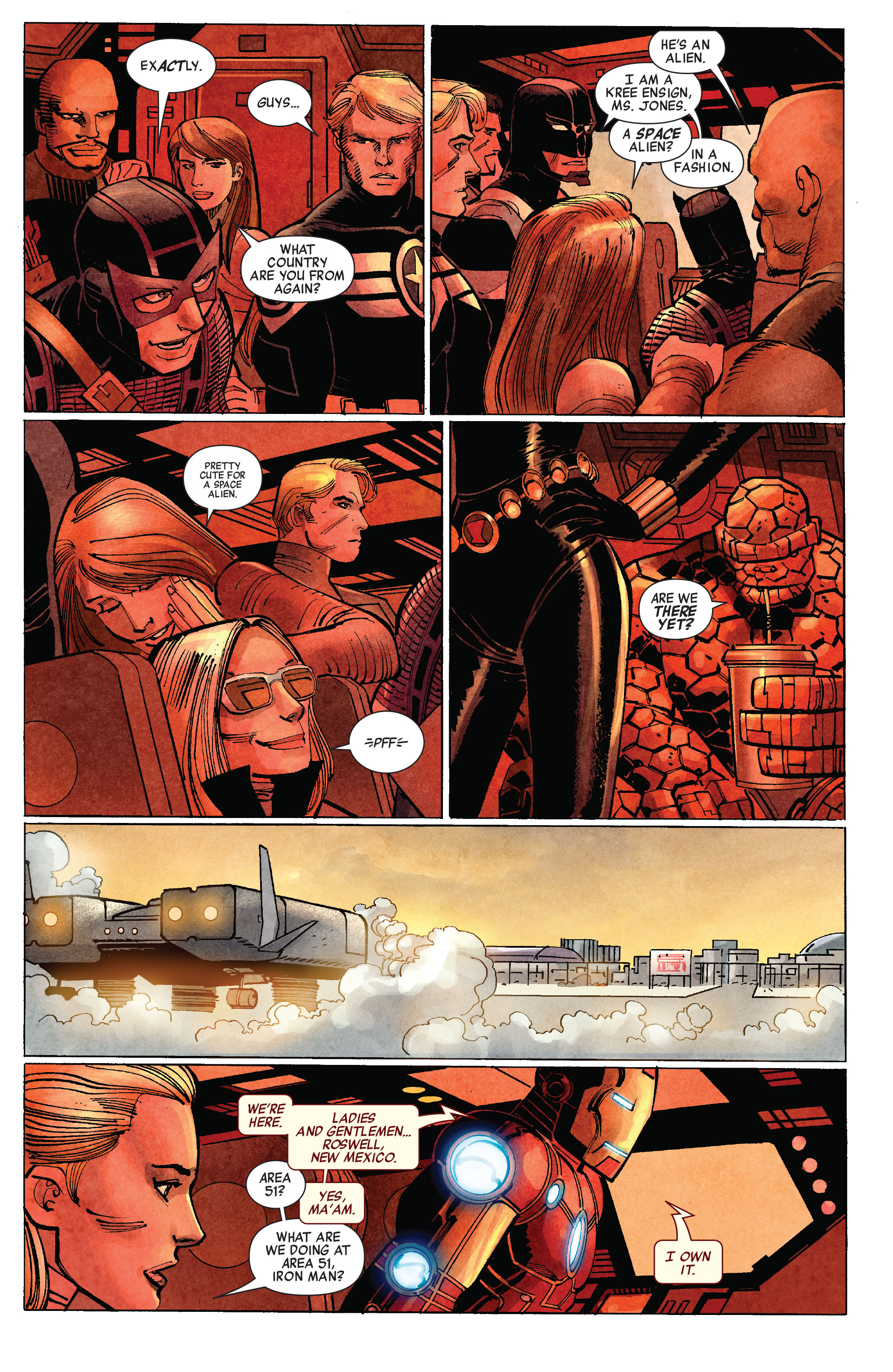 Read online Avengers (2010) comic -  Issue #10 - 17
