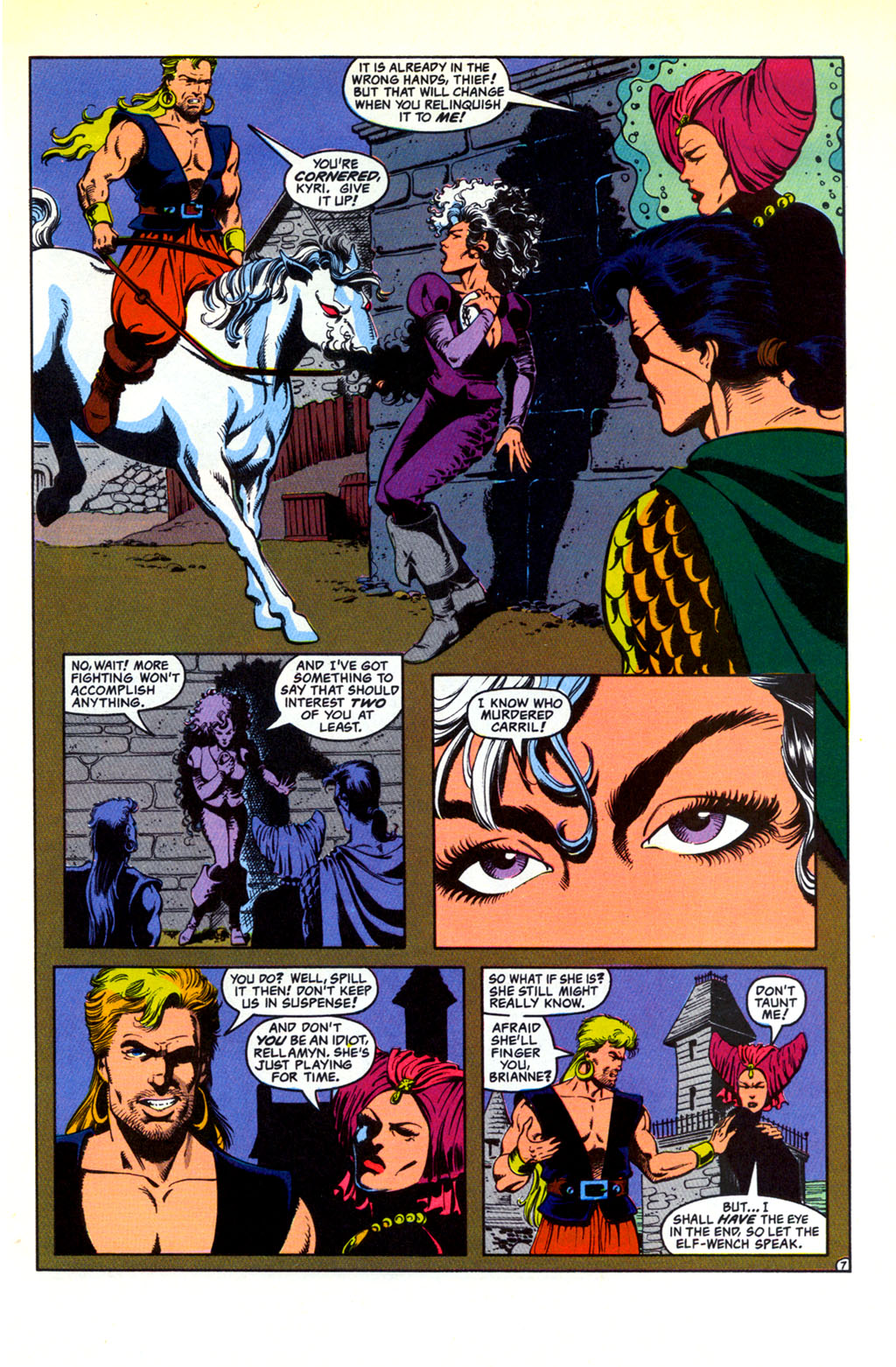 Read online Advanced Dungeons & Dragons comic -  Issue #30 - 7