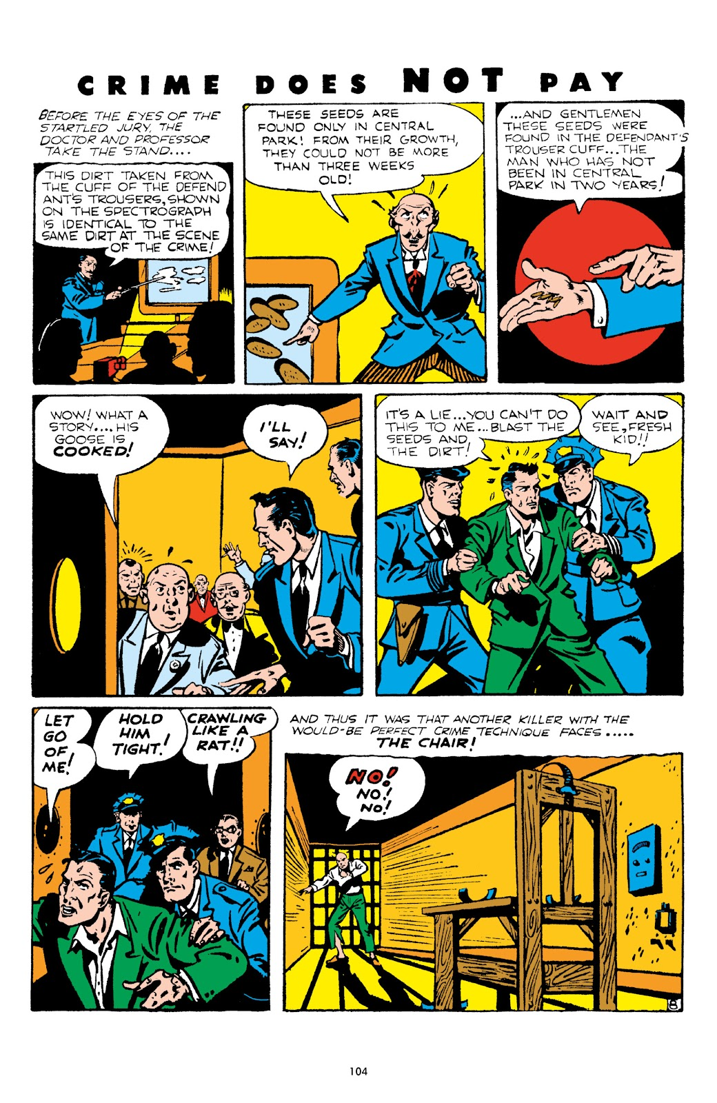 Read online Crime Does Not Pay Archives comic -  Issue # TPB 5 (Part 2) - 4