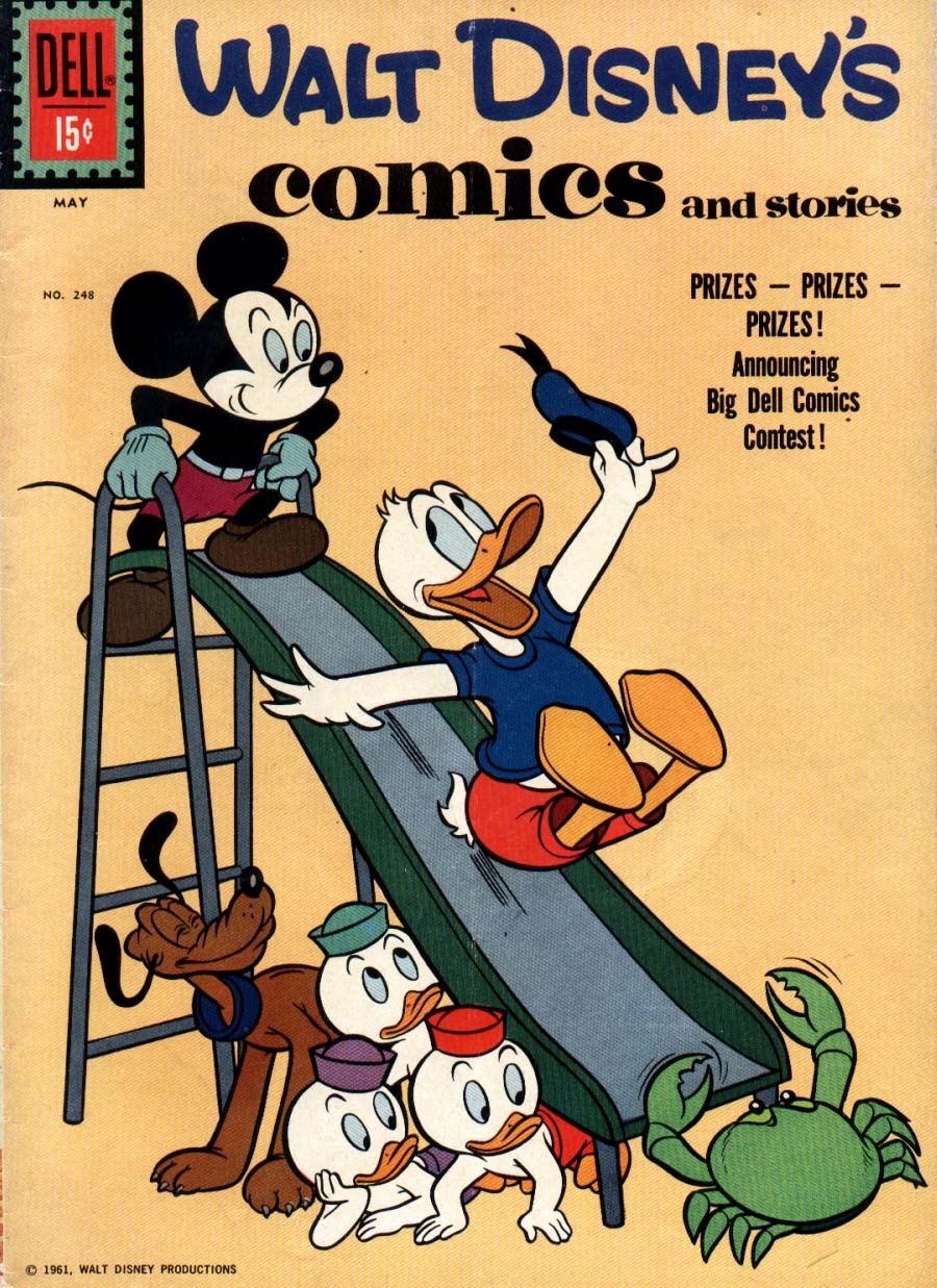 Walt Disney's Comics and Stories issue 248 - Page 1