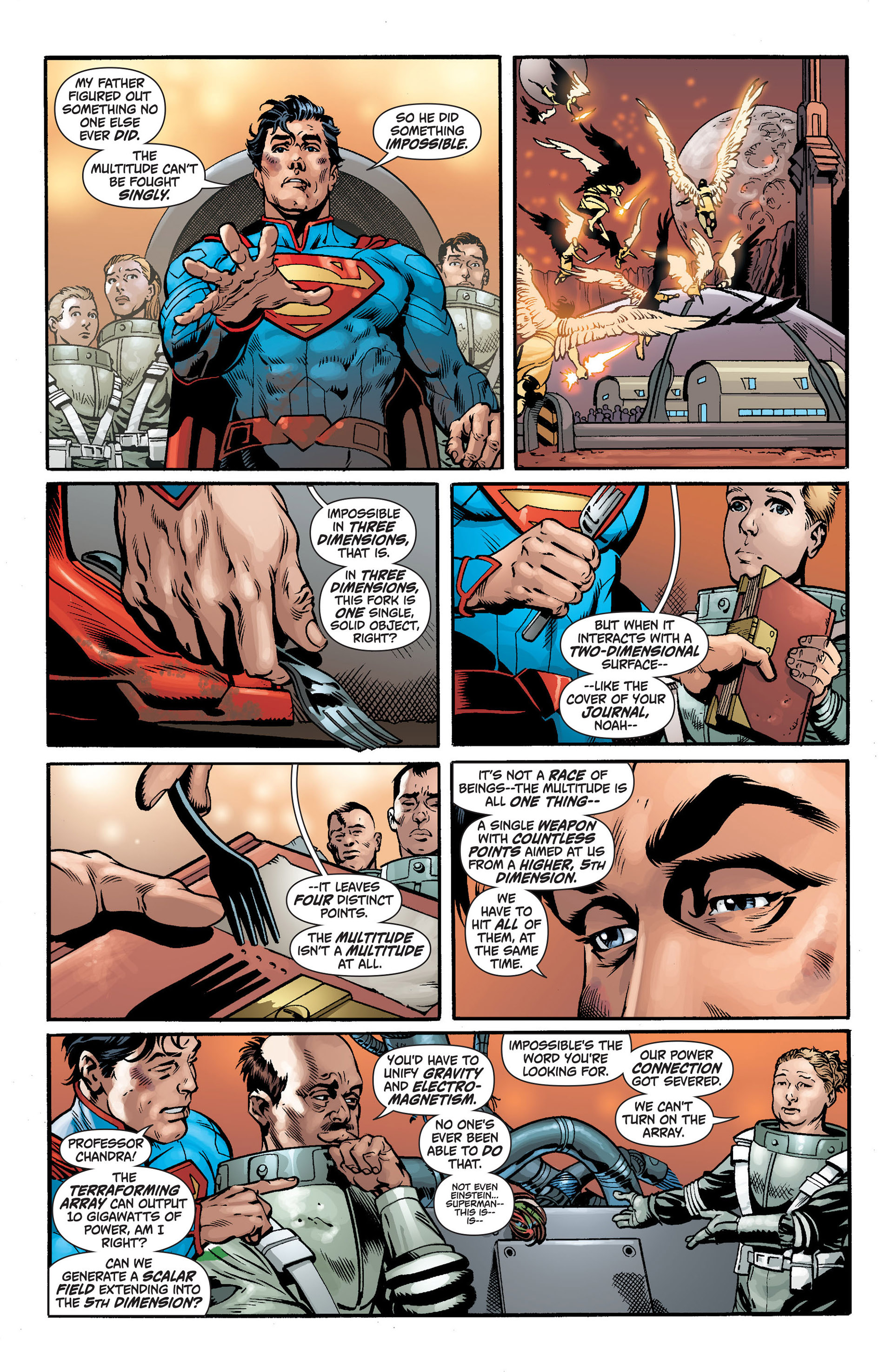Read online Action Comics (2011) comic -  Issue #14 - 19