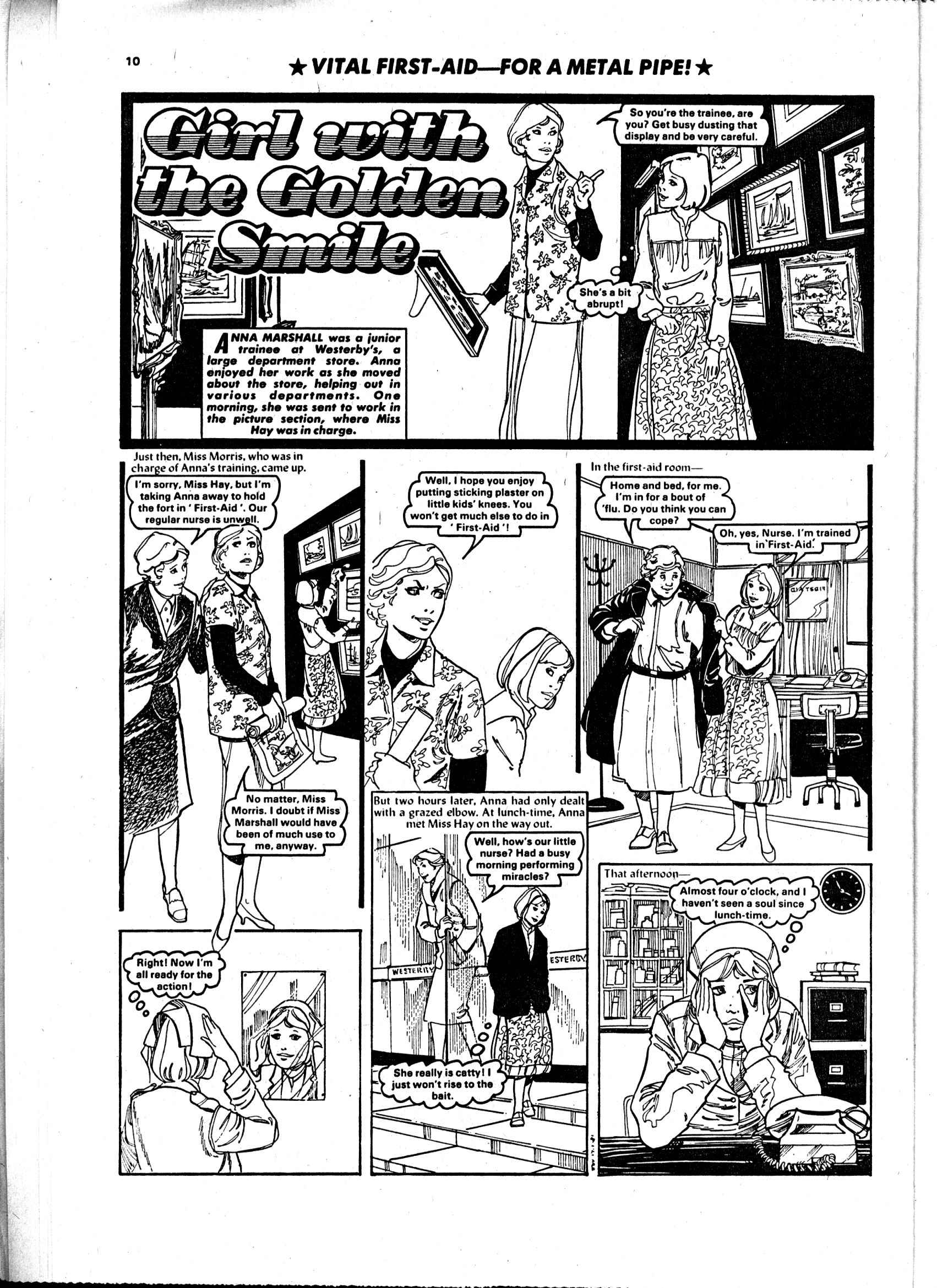 Read online Judy comic -  Issue #97 - 10