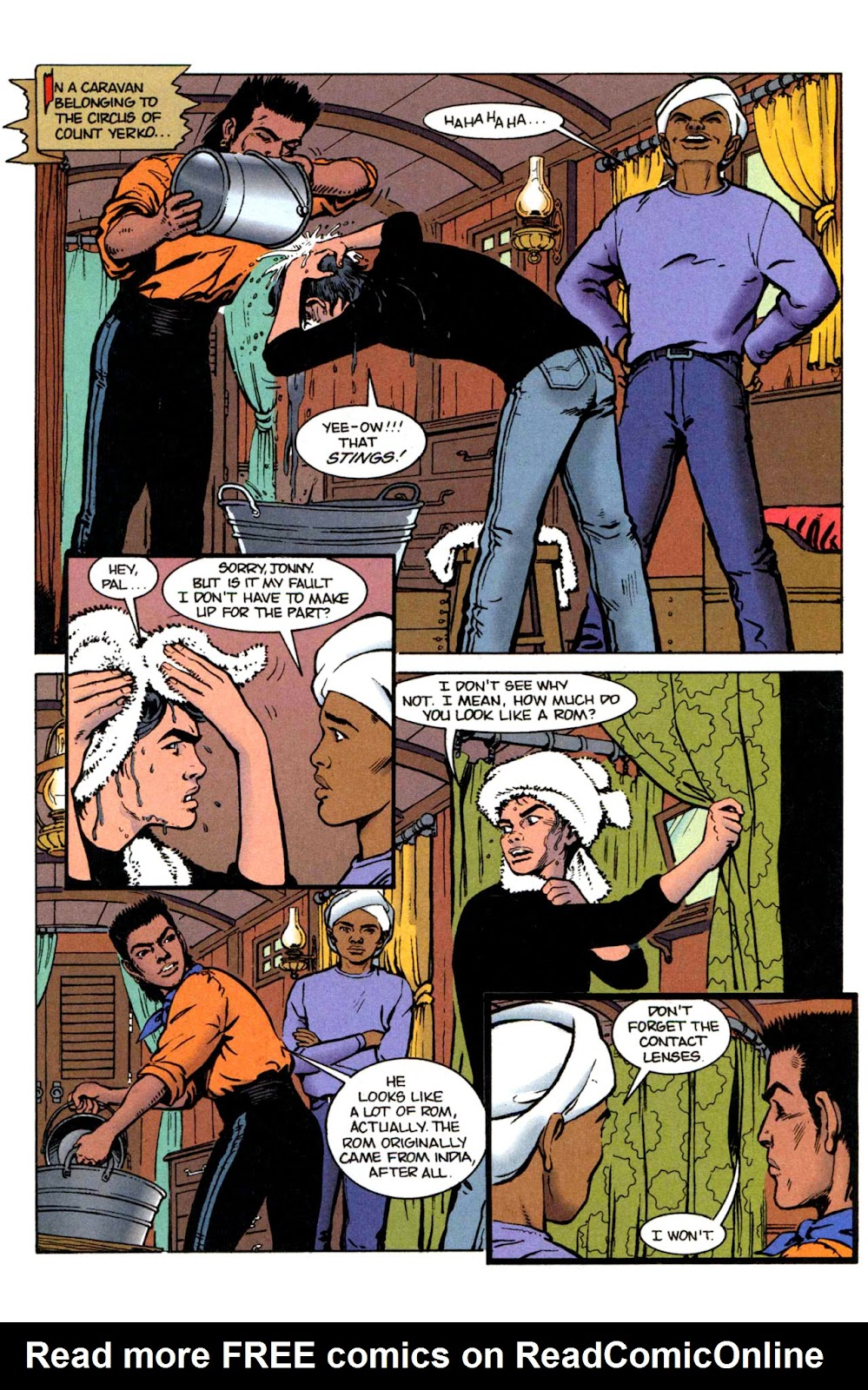 Read online The Real Adventures of Jonny Quest comic -  Issue #2 - 3