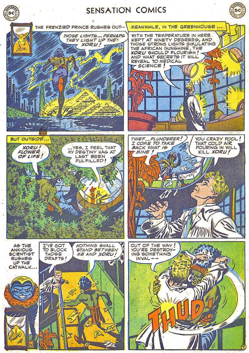 Read online Sensation (Mystery) Comics comic -  Issue #108 - 31