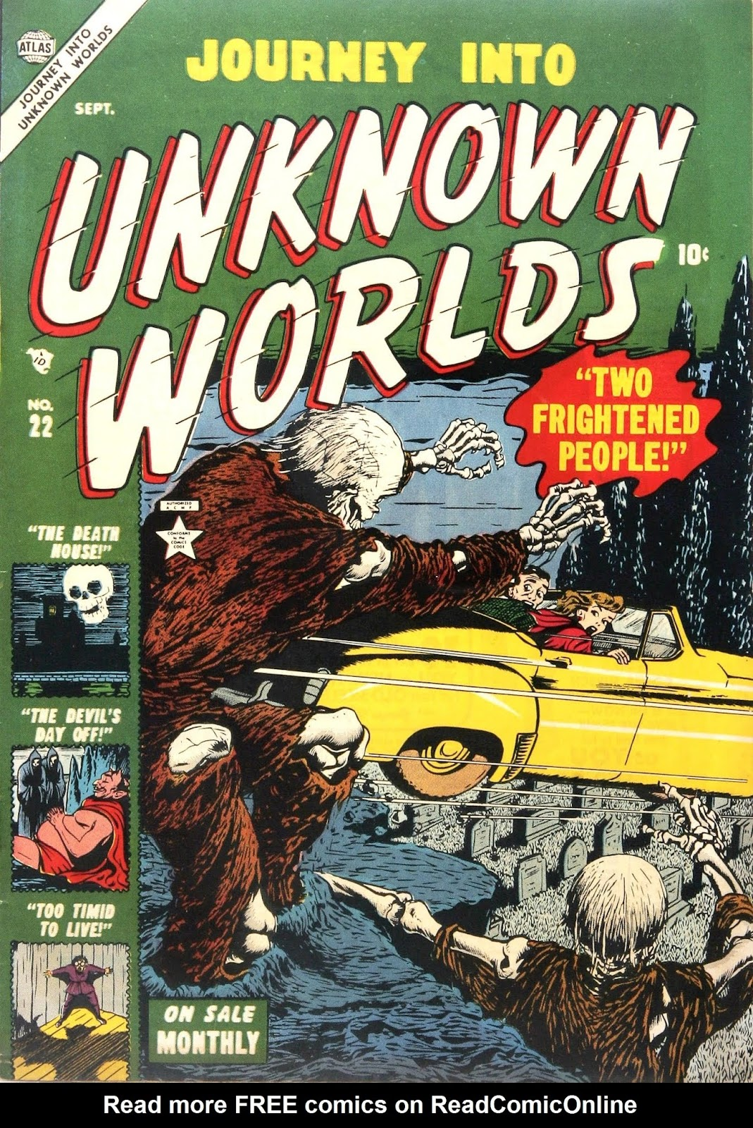 Journey Into Unknown Worlds (1950) issue 22 - Page 1