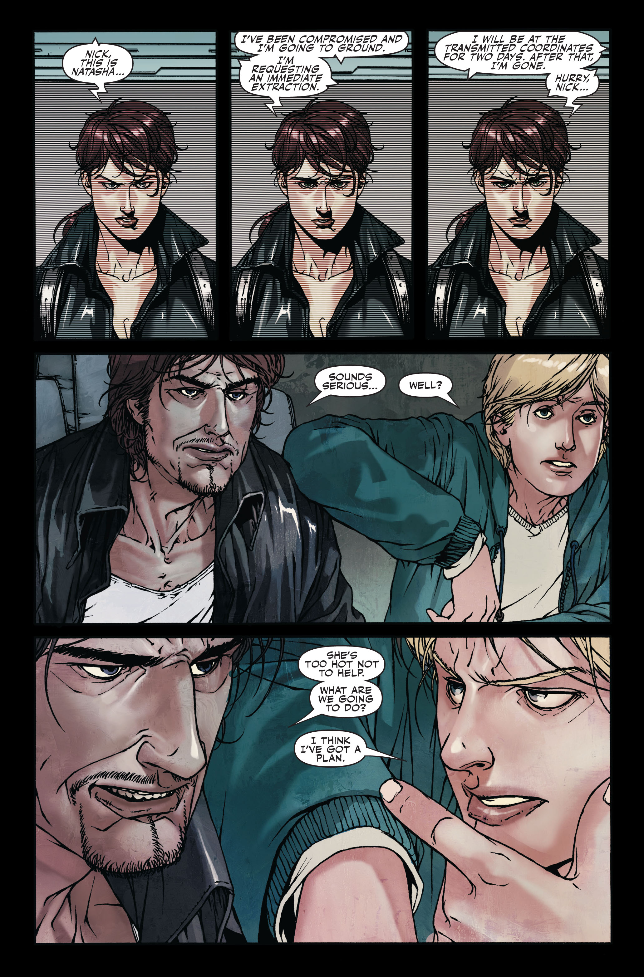 Read online Secret Warriors comic -  Issue #7 - 20