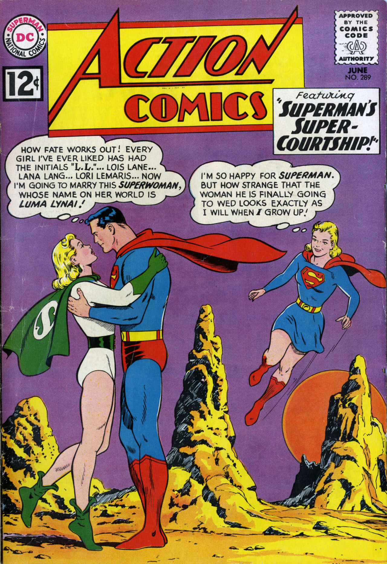 Read online Action Comics (1938) comic -  Issue #289 - 1