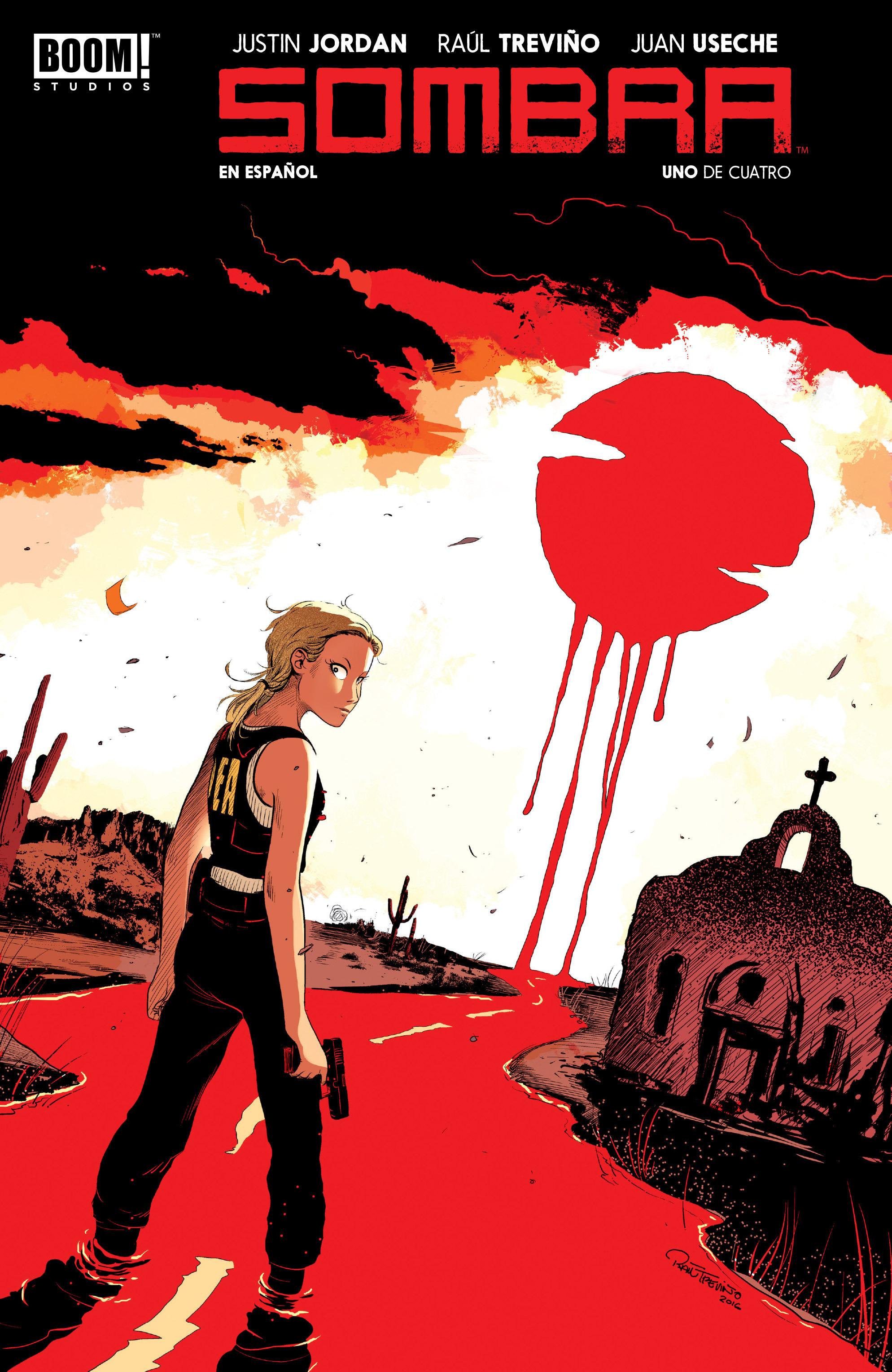 Read online Sombra comic -  Issue #1 - 2