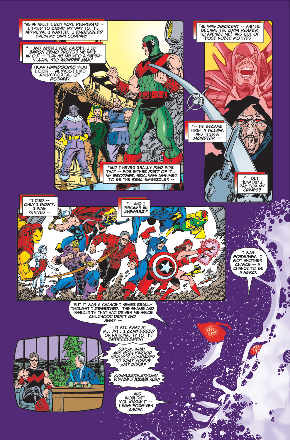 Read online Avengers (1998) comic -  Issue #23 - 20