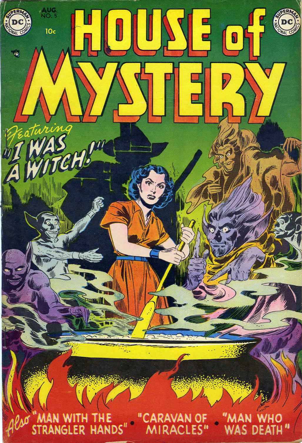 House of Mystery (1951) issue 5 - Page 1