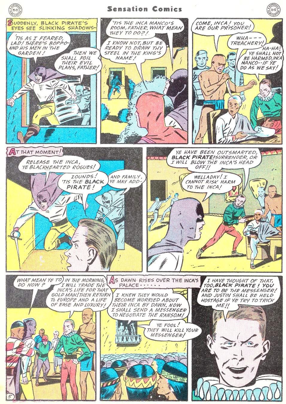Read online Sensation (Mystery) Comics comic -  Issue #50 - 36