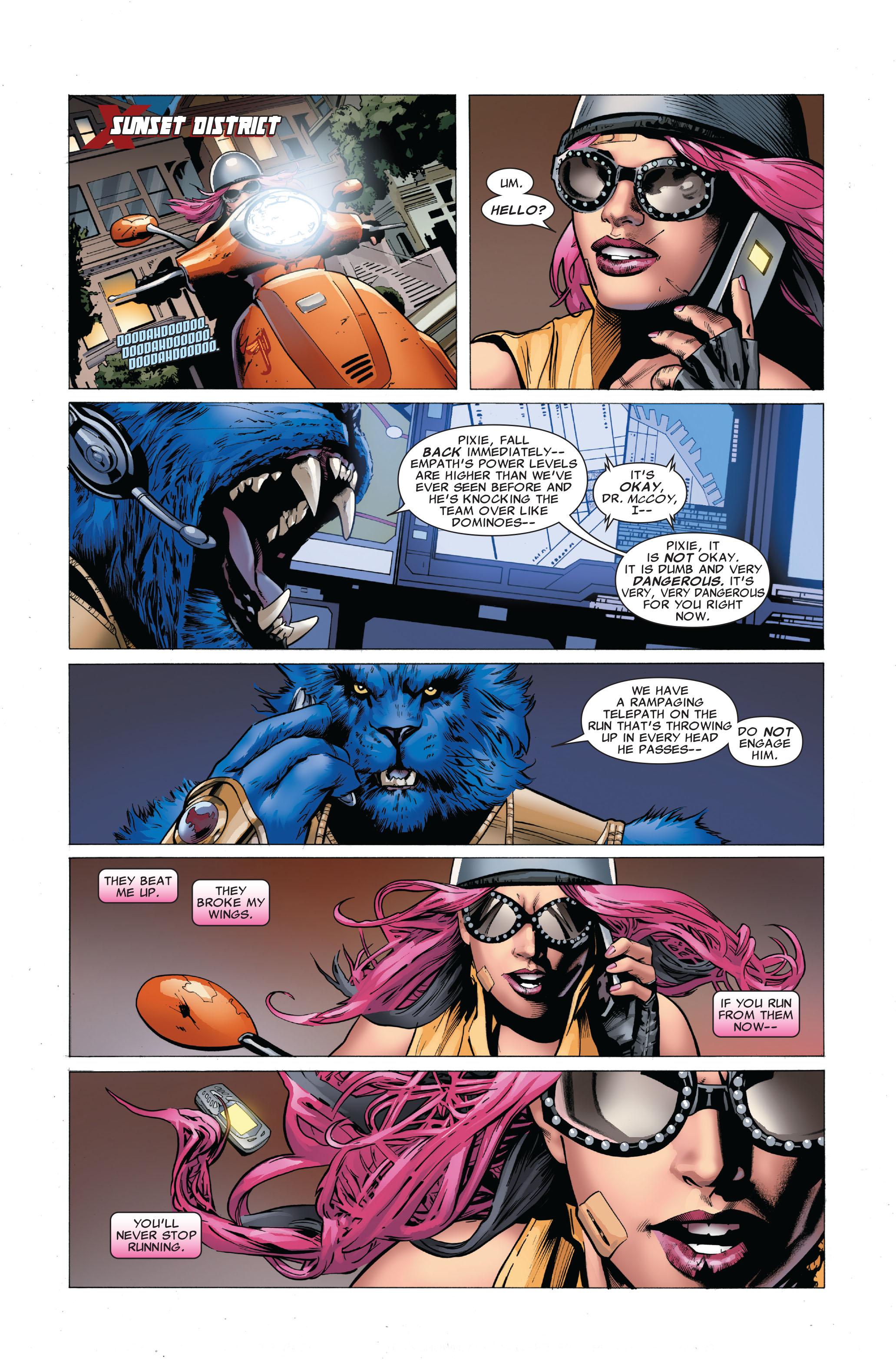 Read online Uncanny X-Men (1963) comic -  Issue #503 - 13