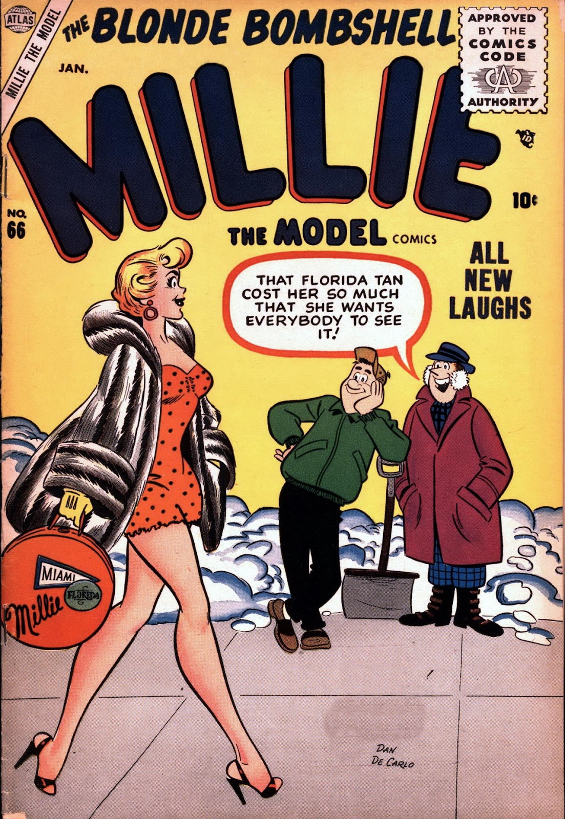 Millie the Model issue 66 - Page 1