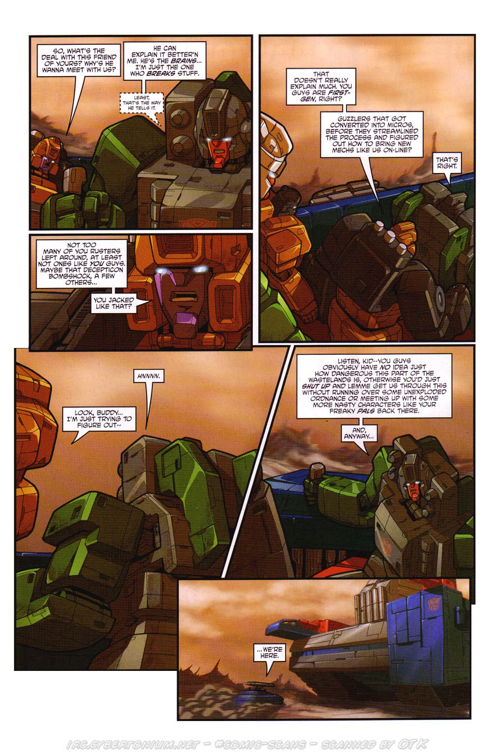 Read online Transformers: Micromasters comic -  Issue #2 - 10