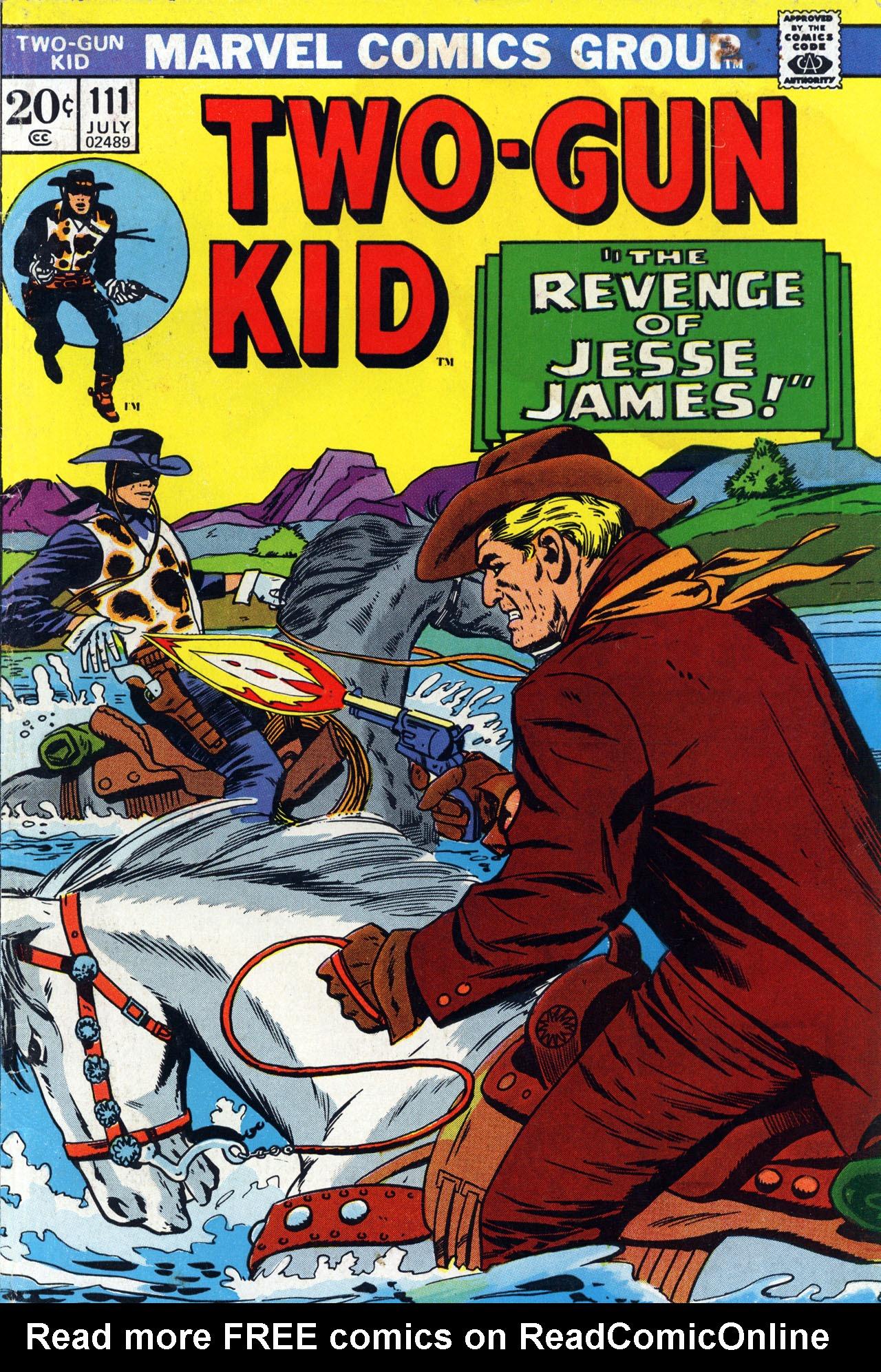 Read online Two-Gun Kid comic -  Issue #111 - 1