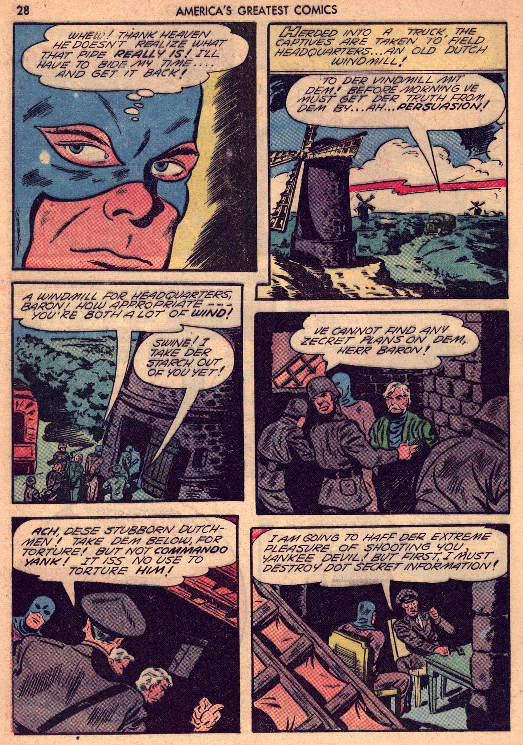 Read online America's Greatest Comics comic -  Issue #7 - 27