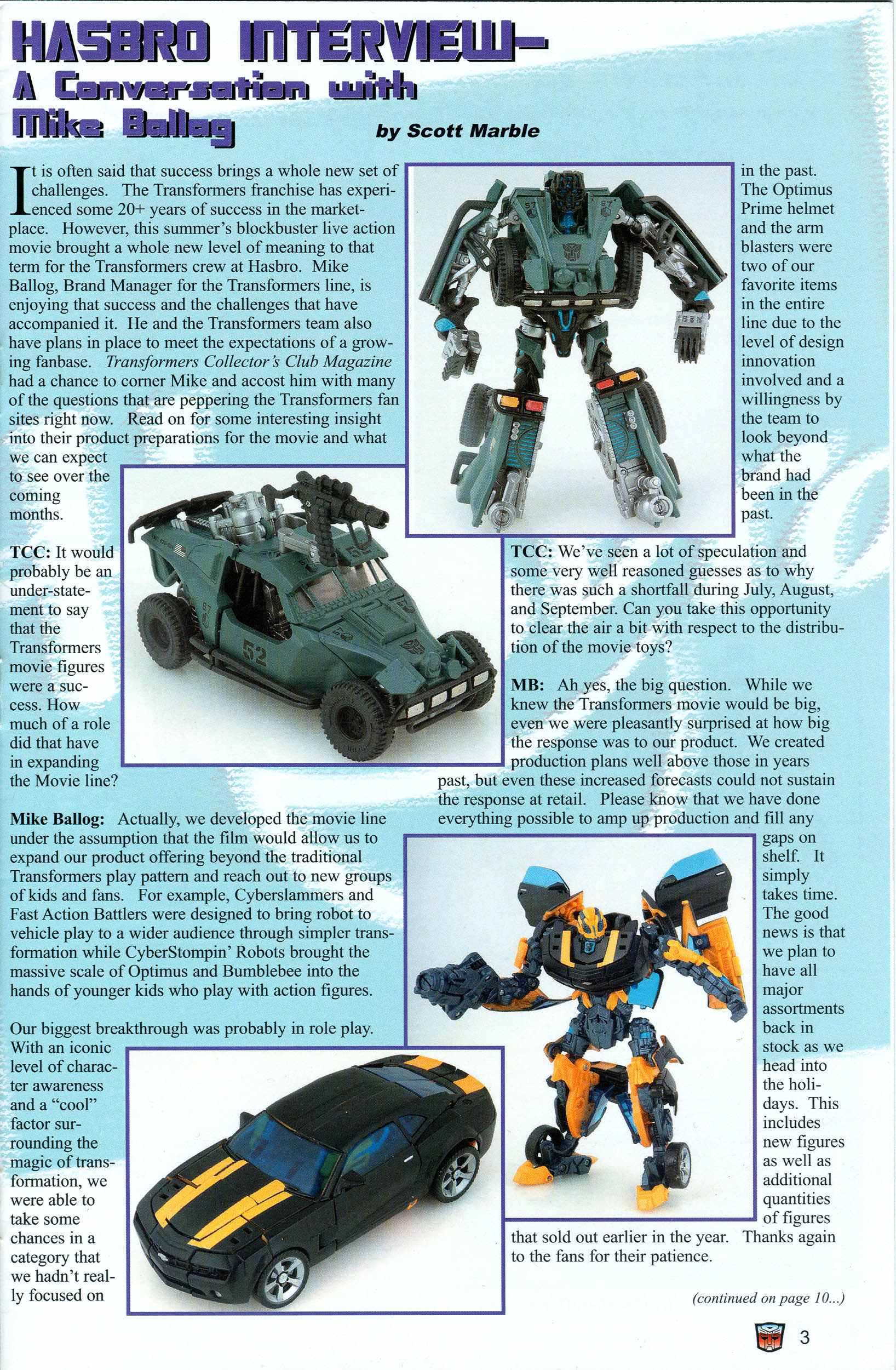 Read online Transformers: Collectors' Club comic -  Issue #18 - 3