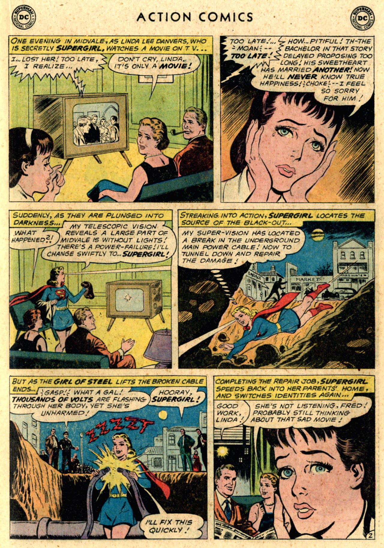 Read online Action Comics (1938) comic -  Issue #289 - 21