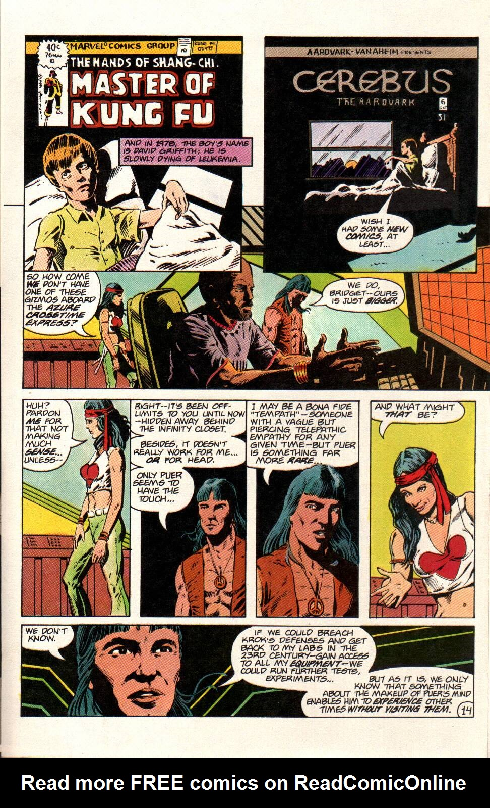 Read online Aztec Ace comic -  Issue #12 - 15