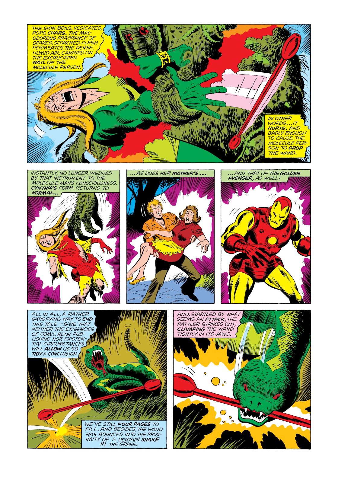 Read online Marvel Masterworks: The Invincible Iron Man comic -  Issue # TPB 11 (Part 2) - 52