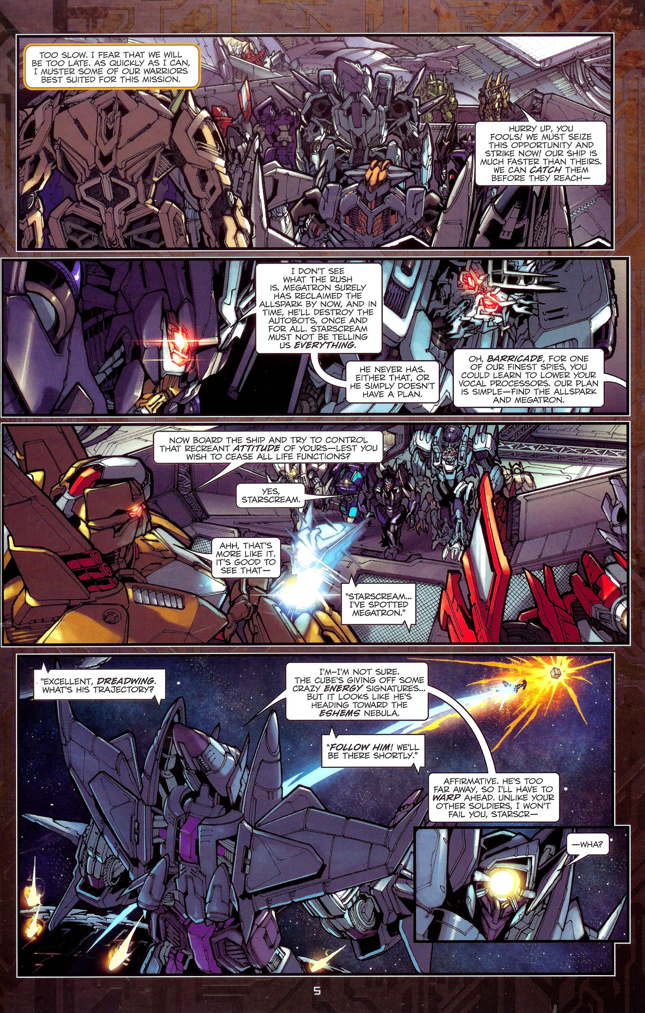 Read online Transformers: The Reign of Starscream comic -  Issue #1 - 8