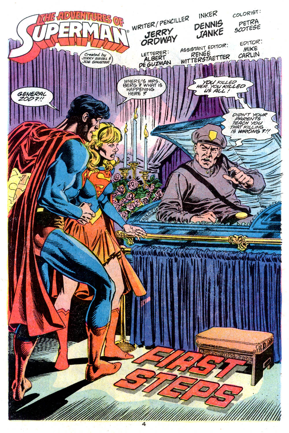 Read online Adventures of Superman (1987) comic -  Issue #446 - 5
