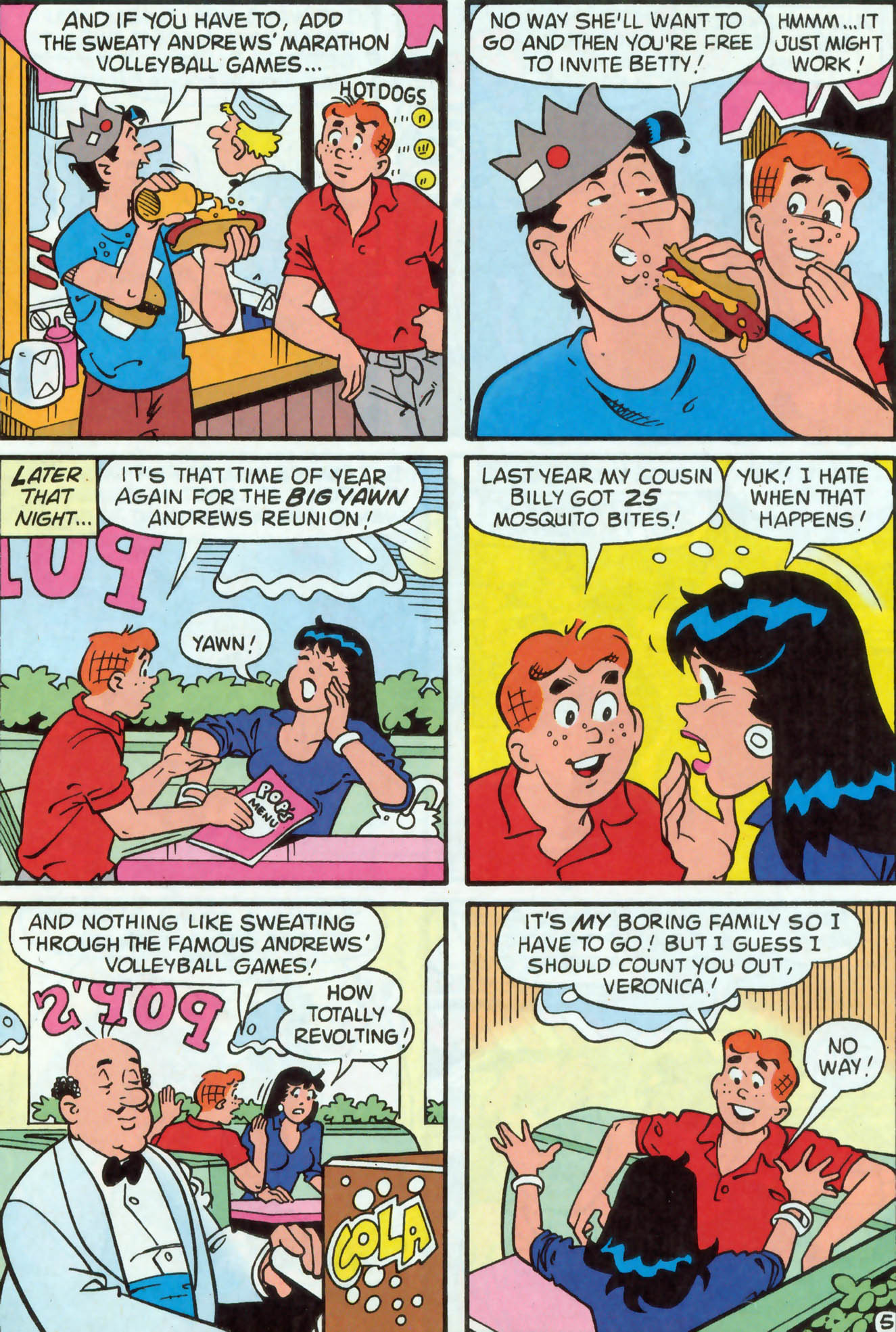 Read online Archie (1960) comic -  Issue #476 - 24