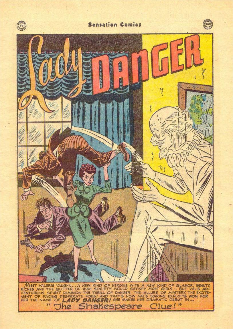 Read online Sensation (Mystery) Comics comic -  Issue #84 - 17