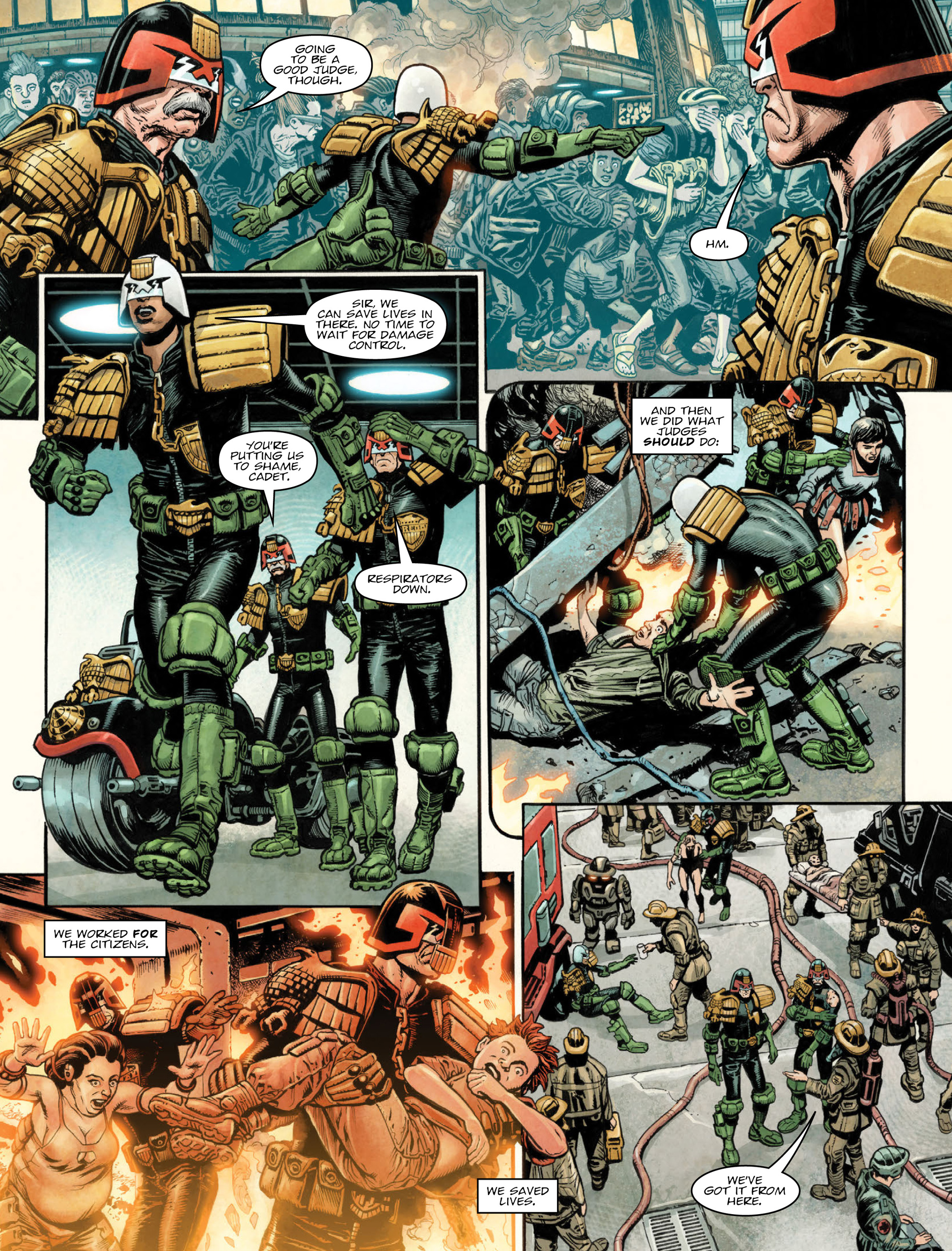 Read online 2000 AD comic -  Issue #2035 - 5