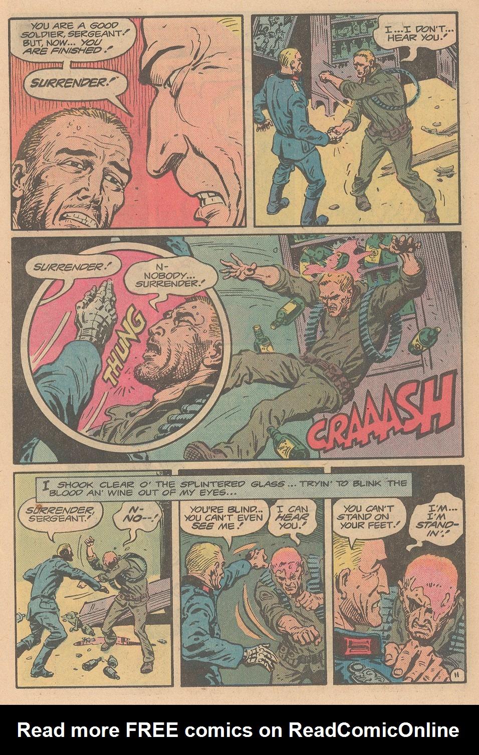Read online Sgt. Rock comic -  Issue #359 - 12