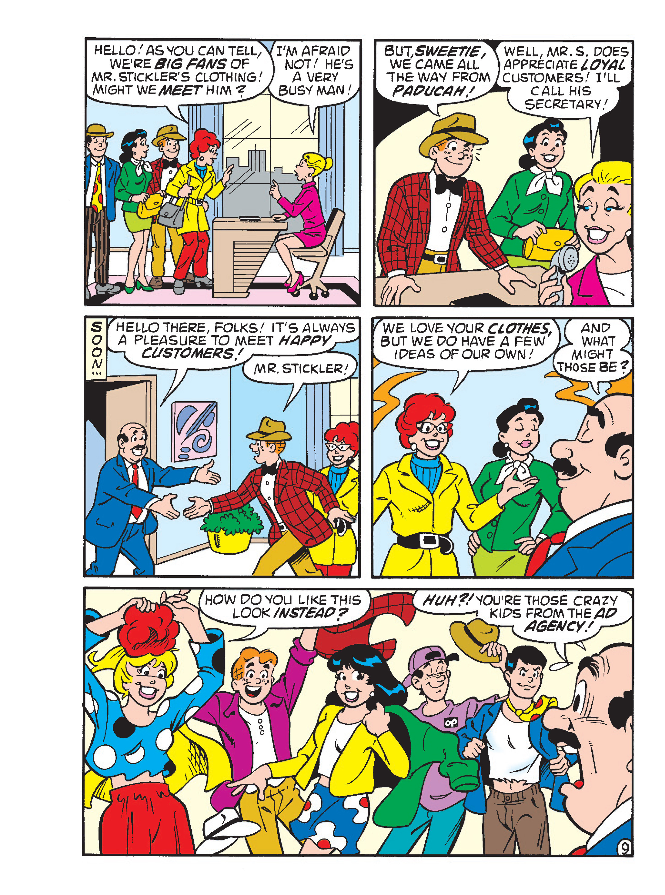 Read online Archie's Funhouse Double Digest comic -  Issue #23 - 101