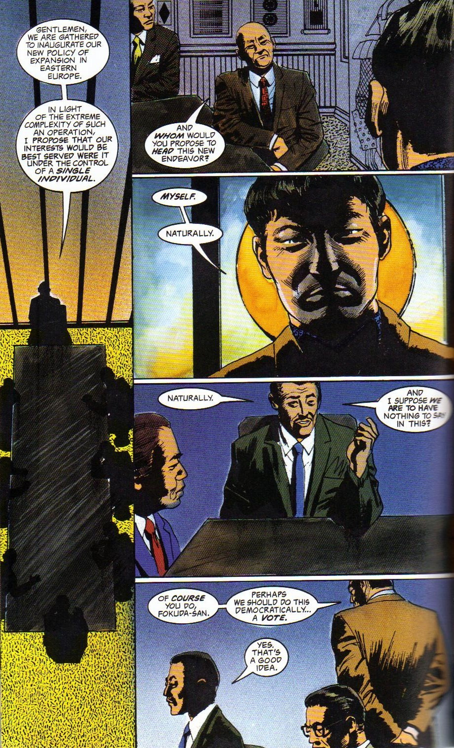 Read online Shado: Song of the Dragon comic -  Issue #4 - 32