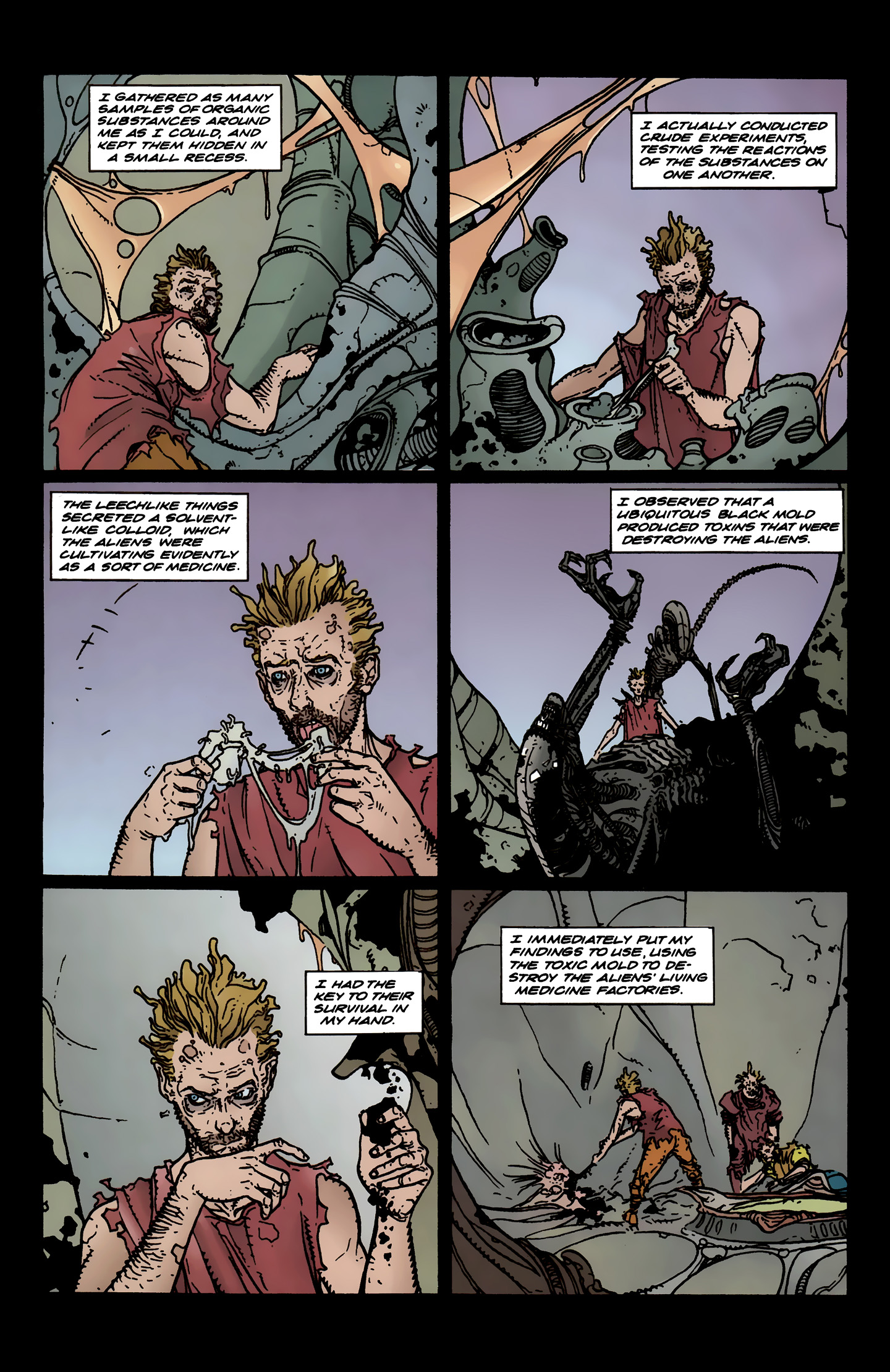 Read online Aliens: Labyrinth comic -  Issue #3 - 21
