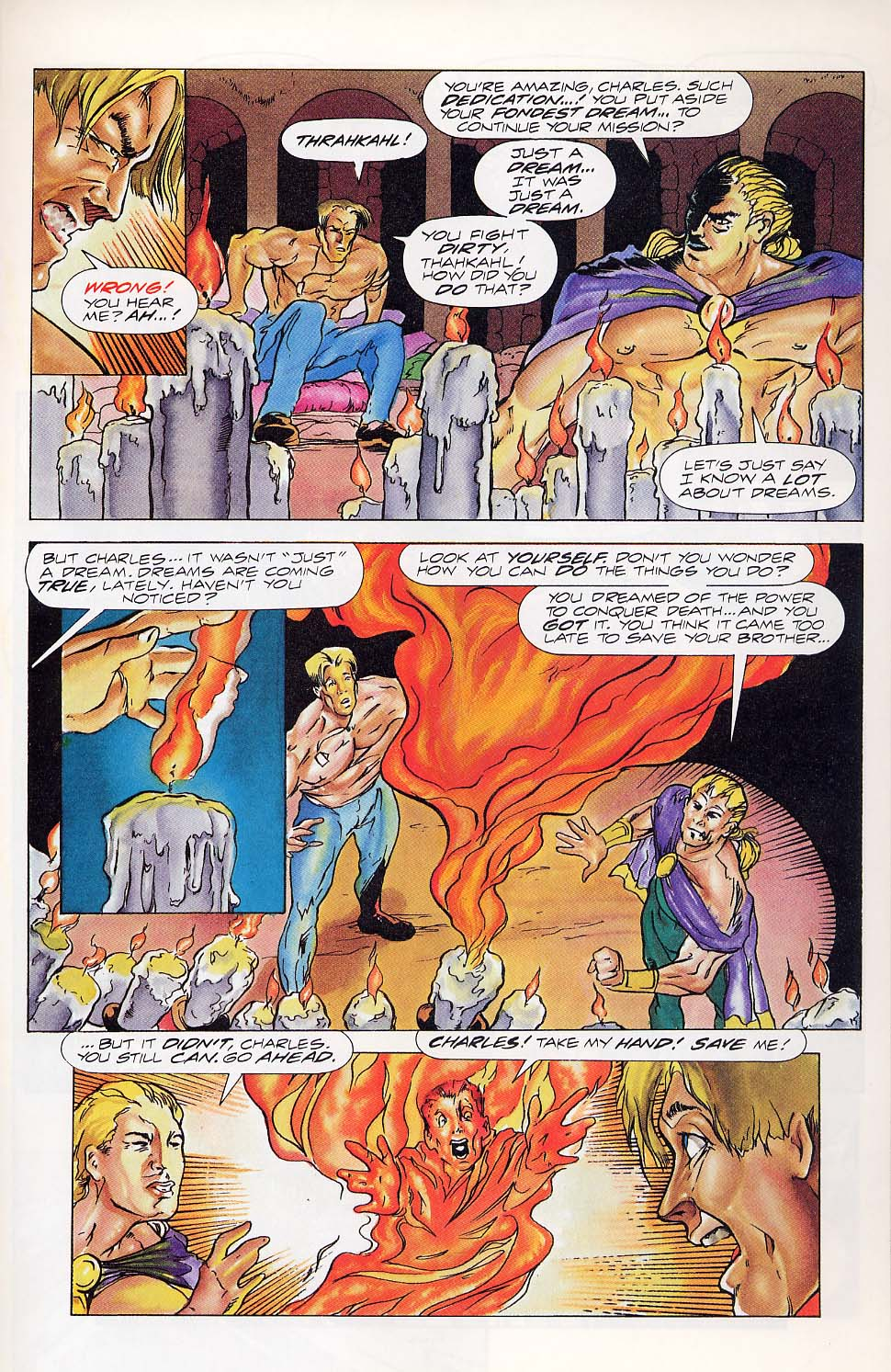Read online Charlemagne comic -  Issue #5 - 19
