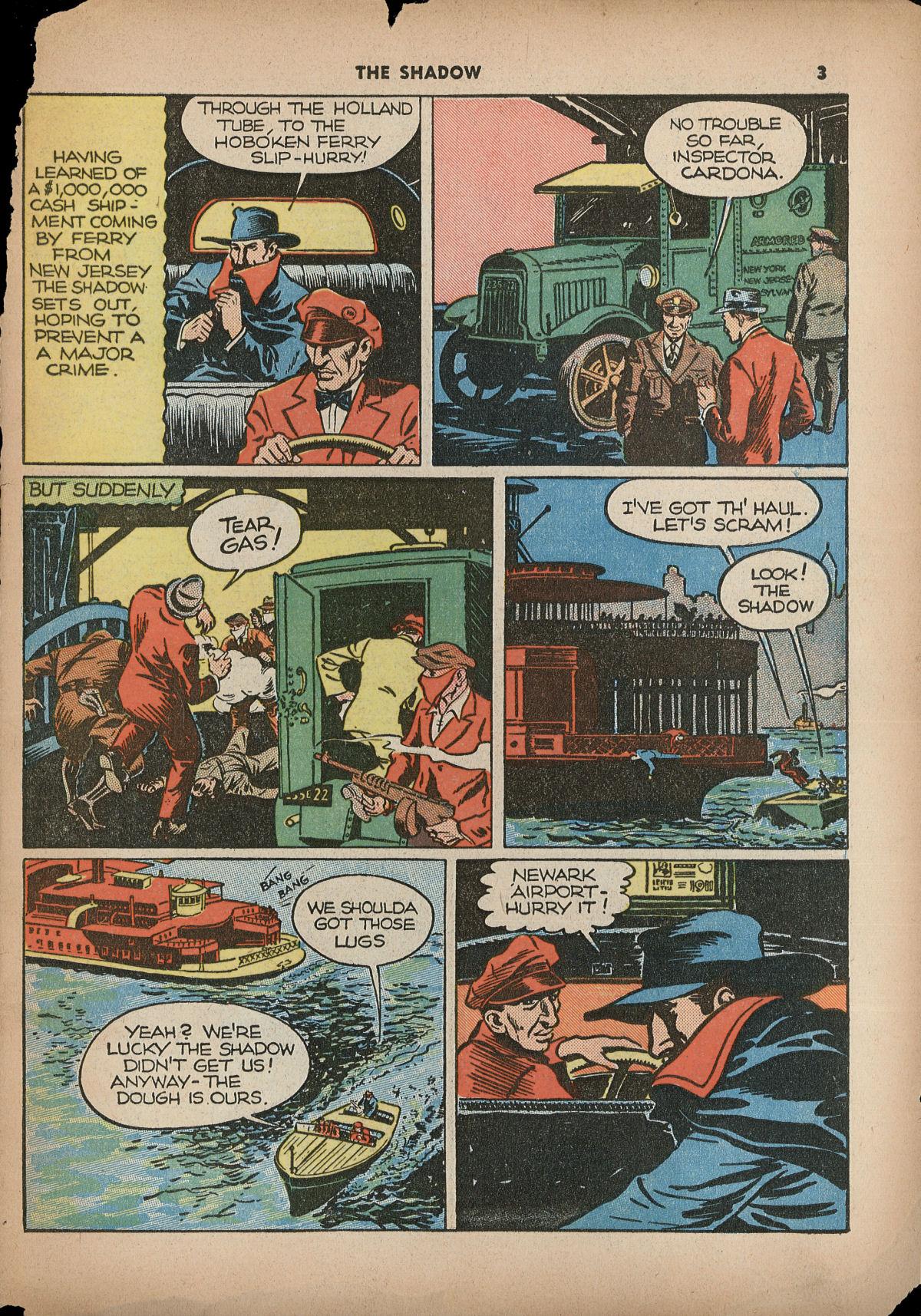 Read online Shadow Comics comic -  Issue #2 - 6