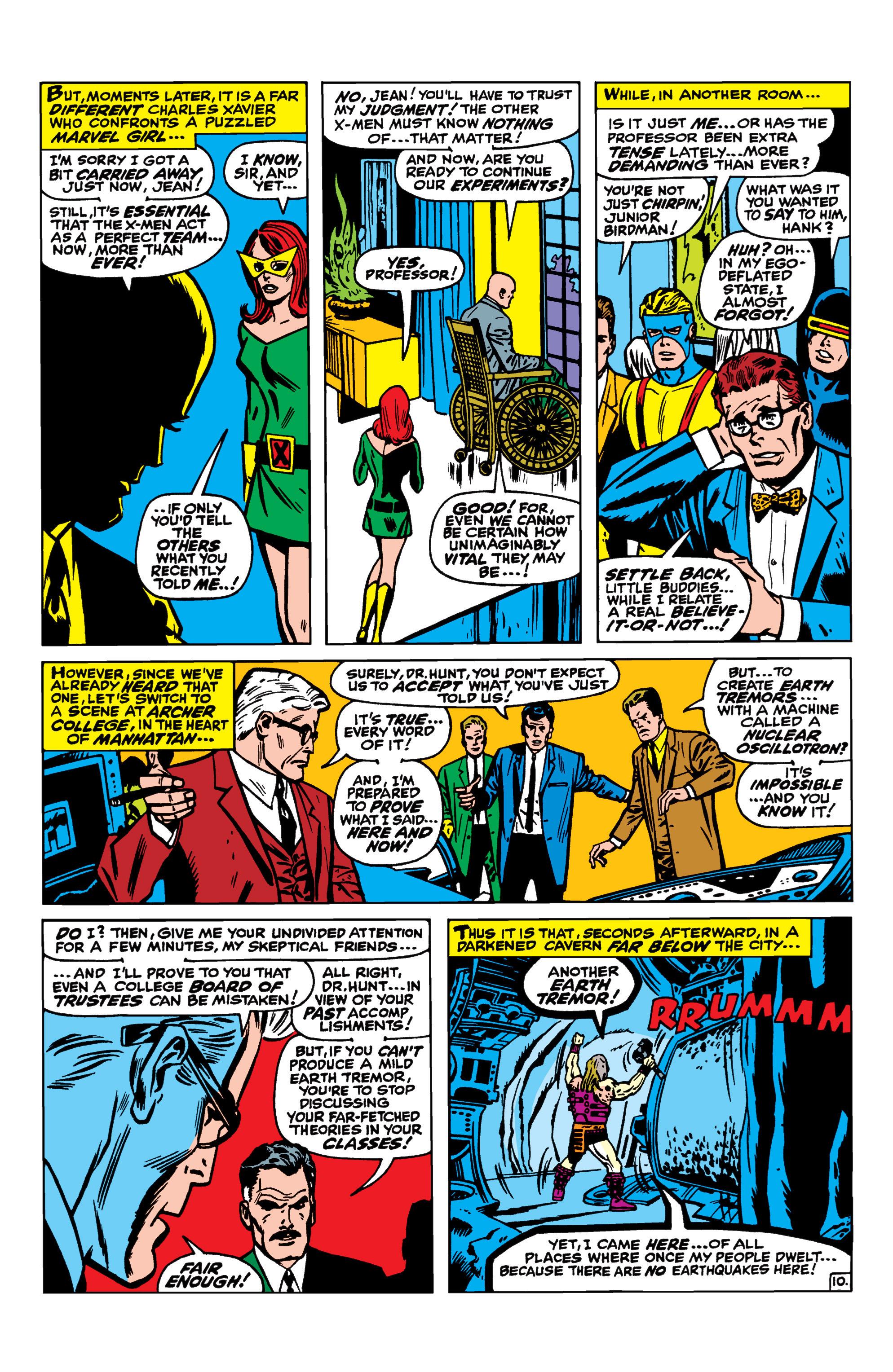 Read online Uncanny X-Men (1963) comic -  Issue #41 - 11