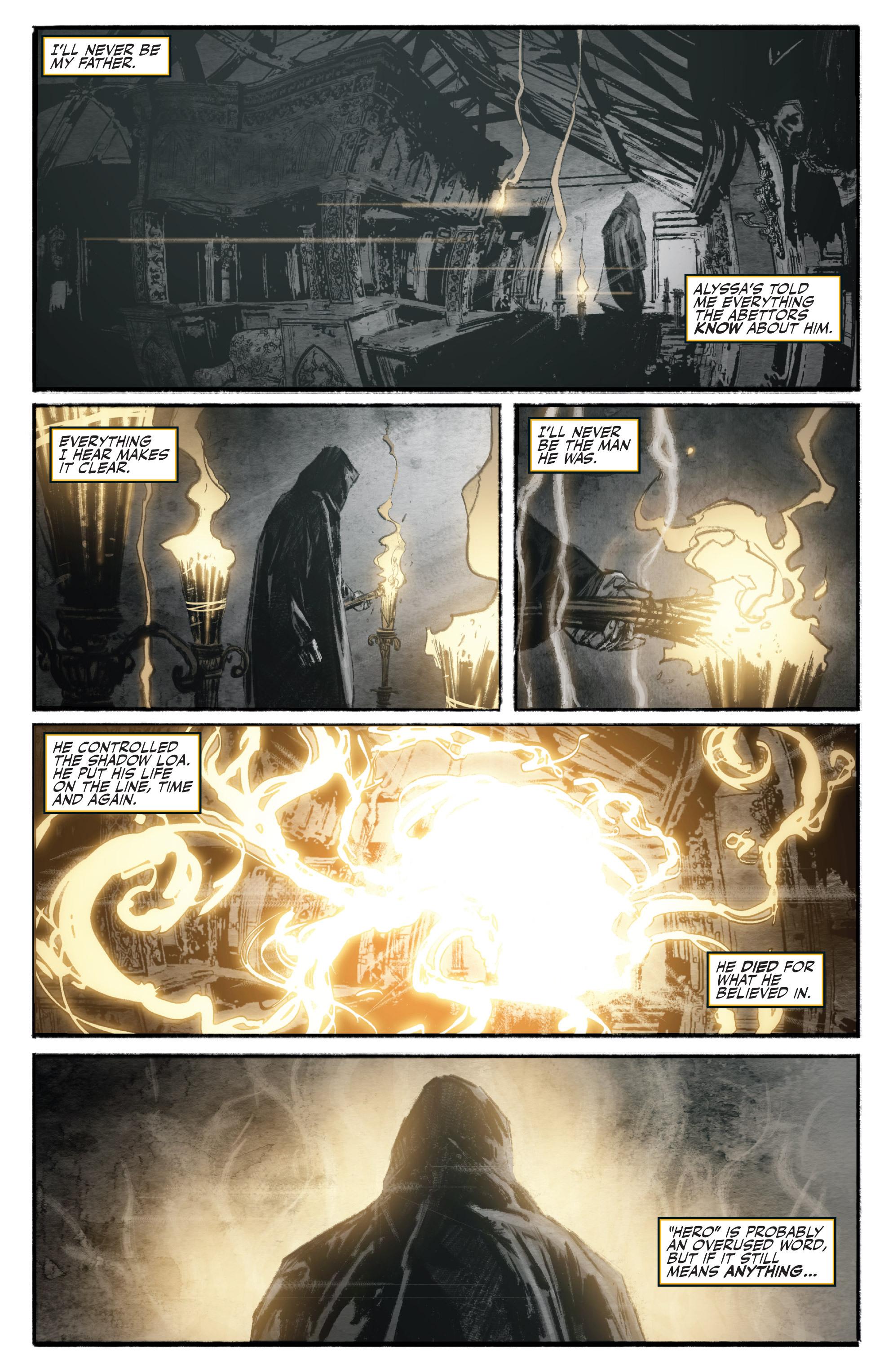 Read online Shadowman (2012) comic -  Issue #16 - 22