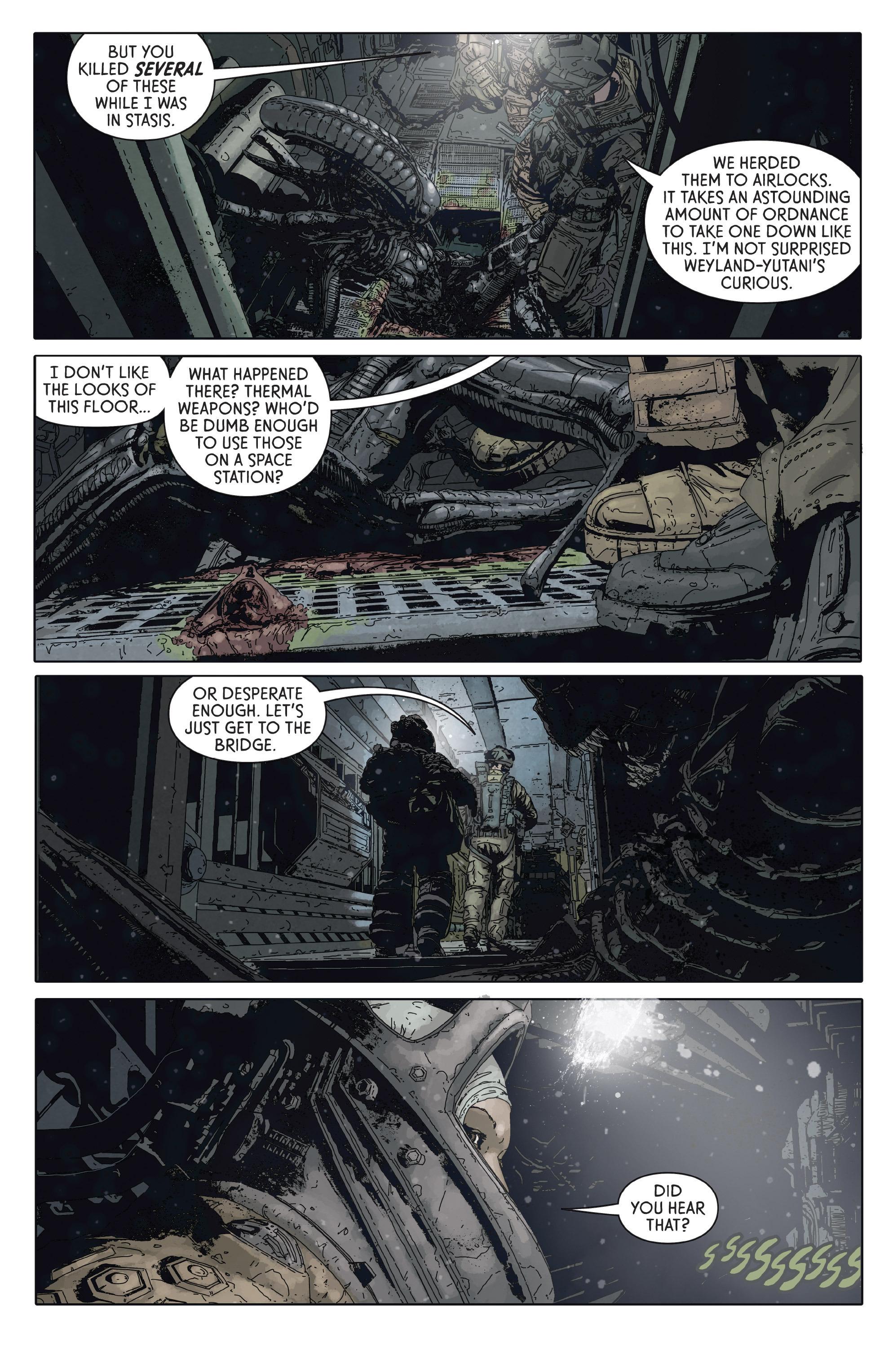 Read online Aliens: Defiance comic -  Issue #2 - 9