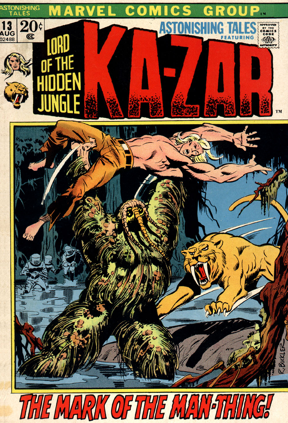 Read online Astonishing Tales (1970) comic -  Issue #13 - 1