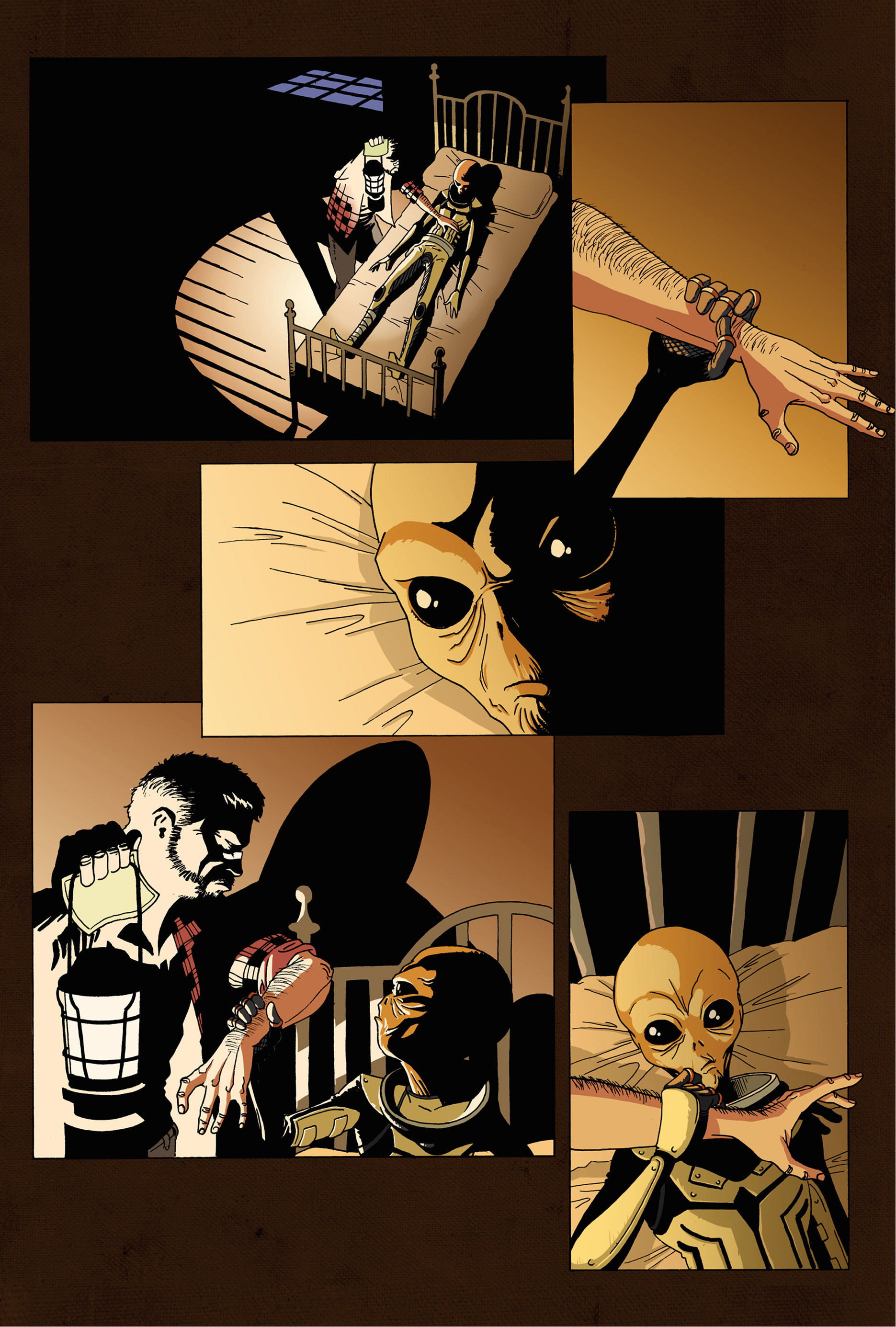 Read online Trespasser comic -  Issue #1 - 18