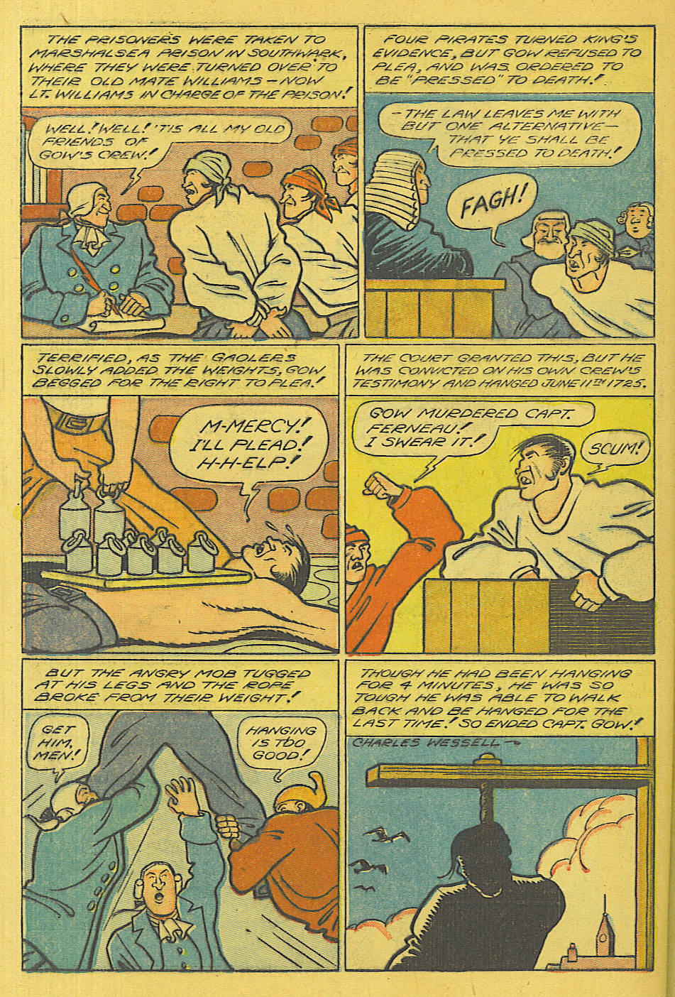 Read online Shadow Comics comic -  Issue #71 - 37