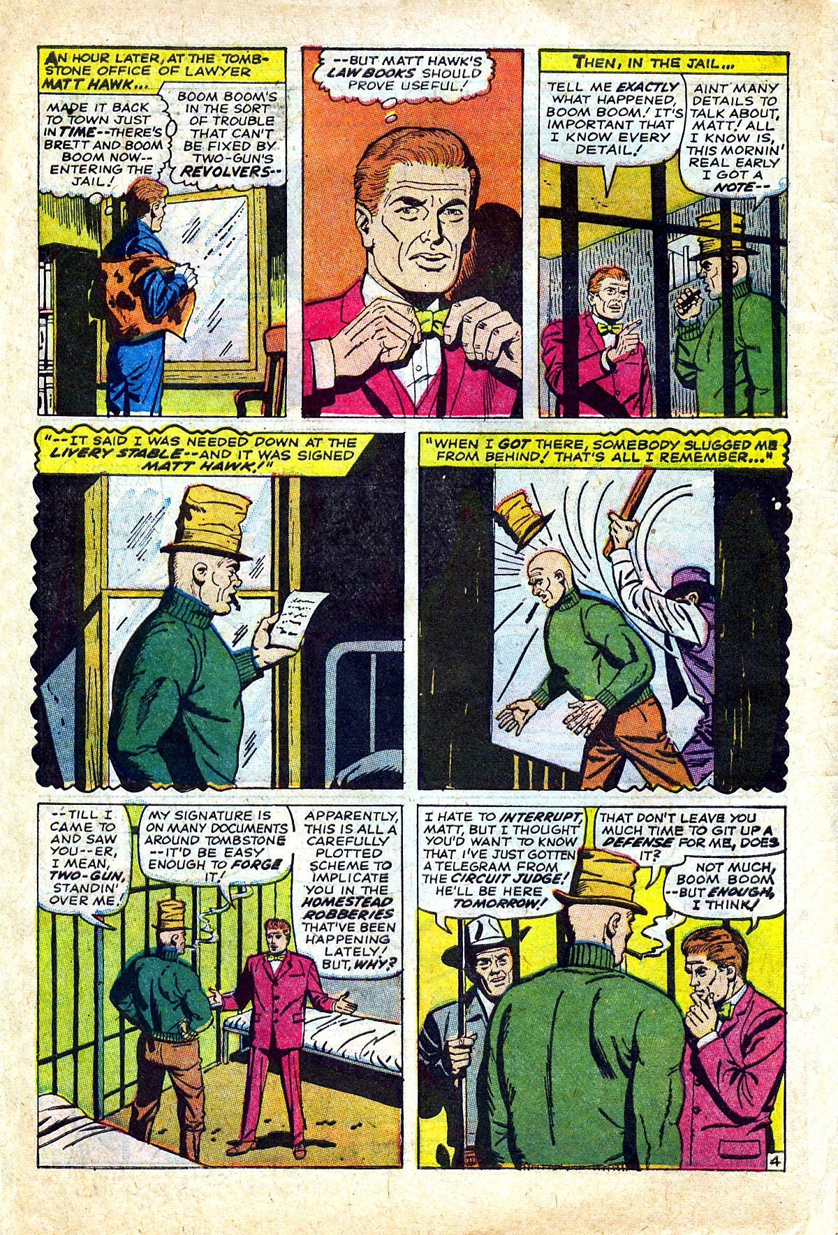 Read online Two-Gun Kid comic -  Issue #90 - 6