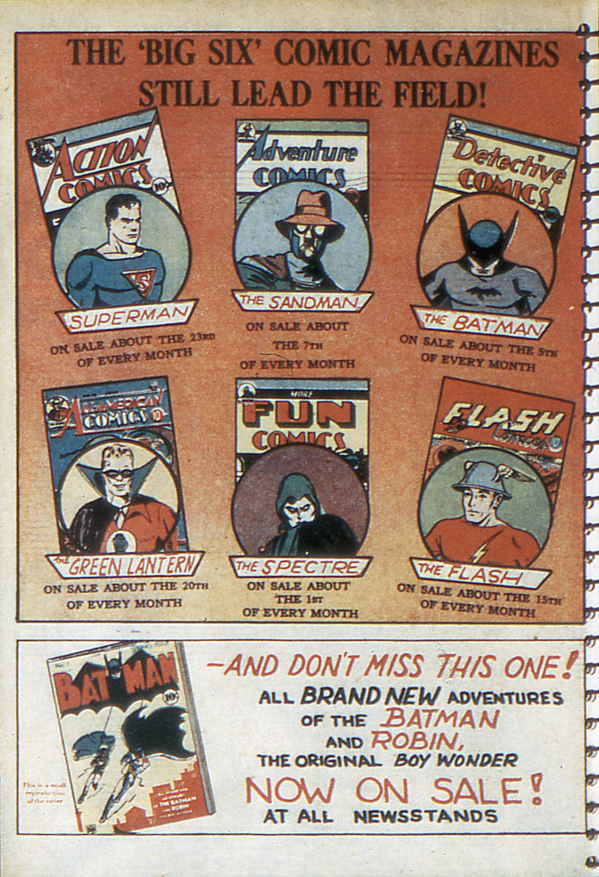 Read online Adventure Comics (1938) comic -  Issue #52 - 66